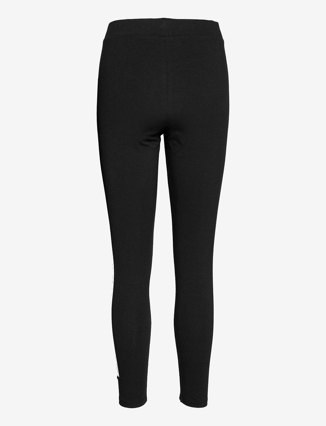 Calvin Klein Jeans - MIRRORED LOGO LEGGING - leggings - ck black - 1