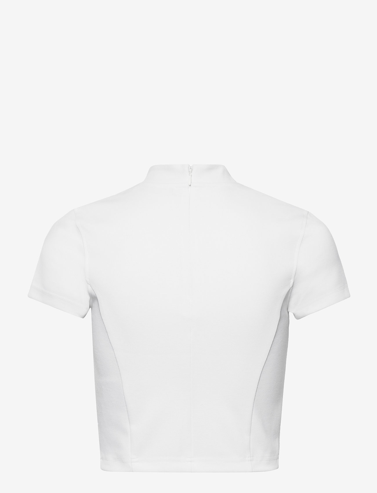 Calvin Klein Jeans - MILANO CENTER INSTITUTIONAL SS - crop tops - bright white - 1