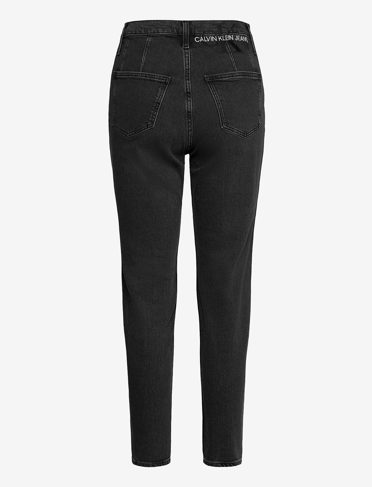 Calvin Klein Jeans - MOM JEAN - mammajeans - denim black - 1