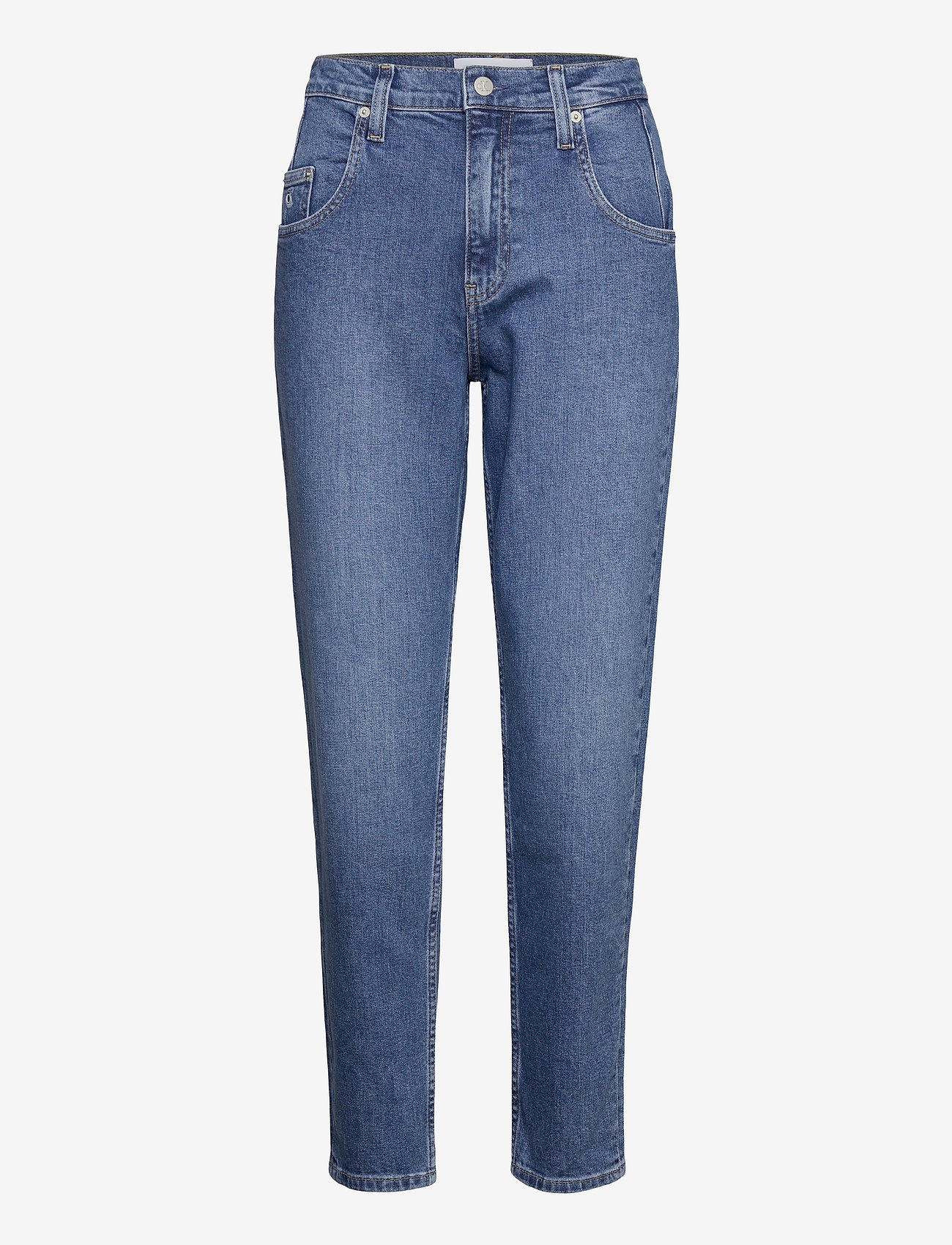 Calvin Klein Jeans - MOM JEAN - mammajeans - denim medium - 0