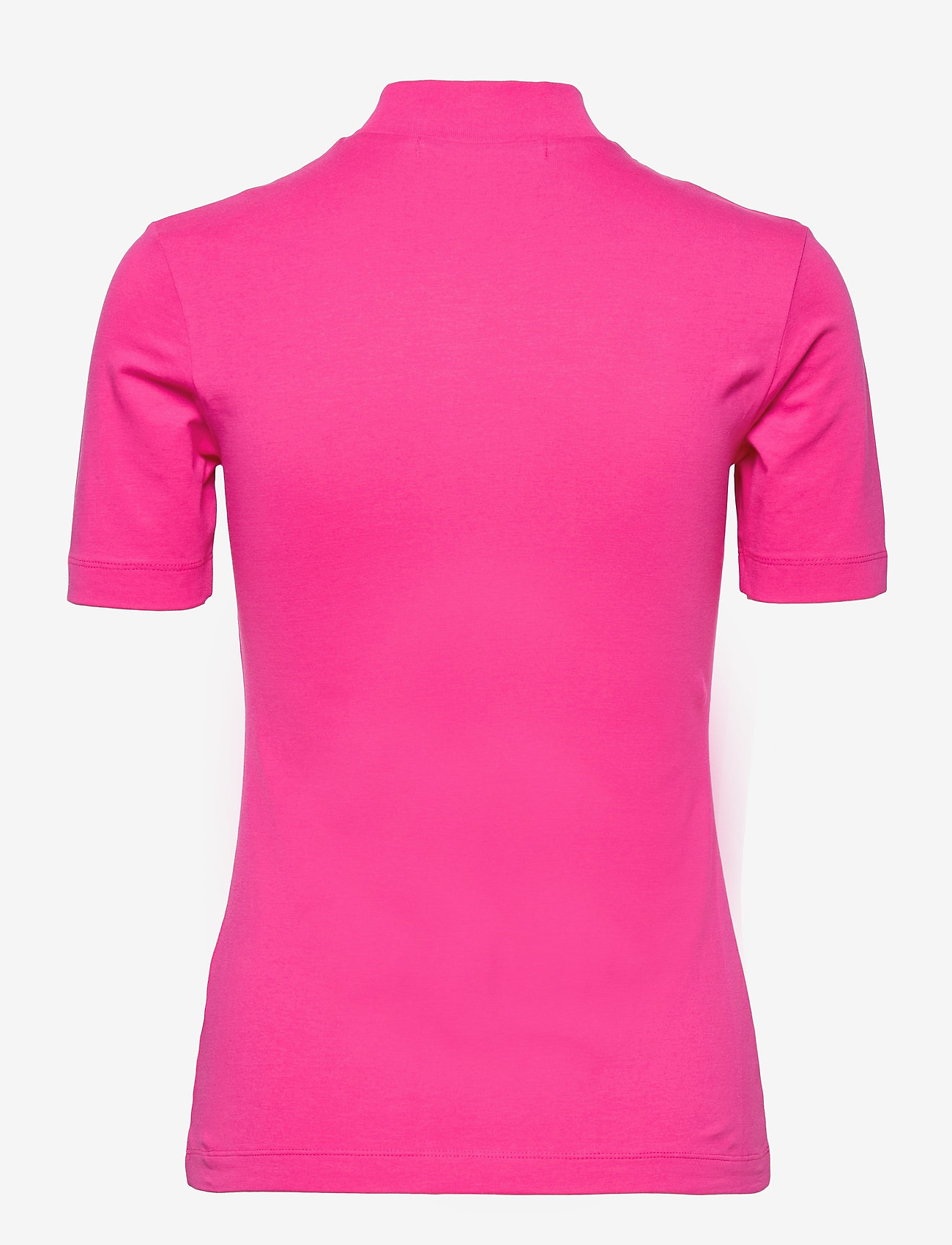 Calvin Klein Jeans - MICRO BRANDING STRETCH MOCK NECK - t-shirts - party pink - 1