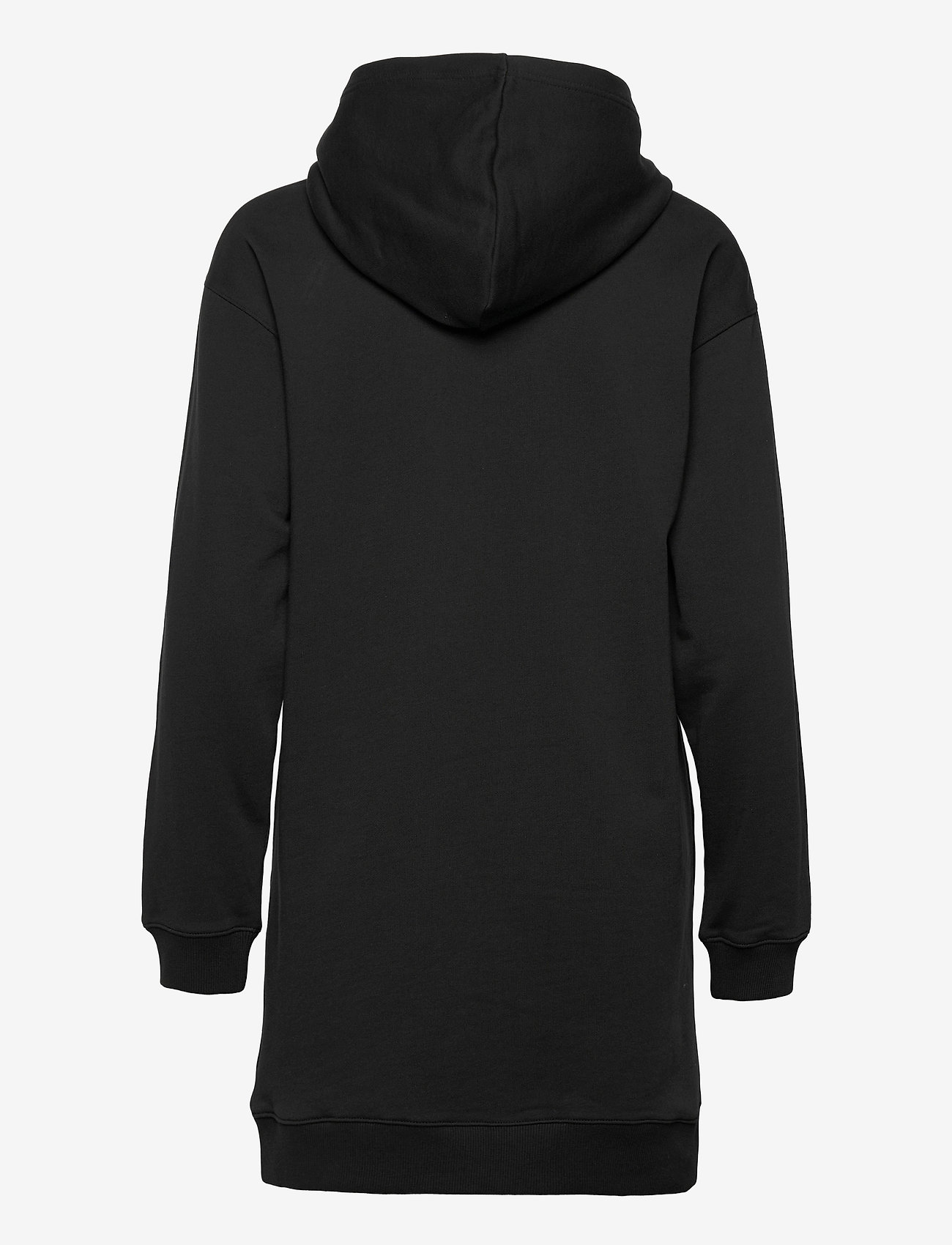 Calvin Klein Jeans - LOGO TRIM HOODIE DRESS - hverdagskjoler - ck black - 1
