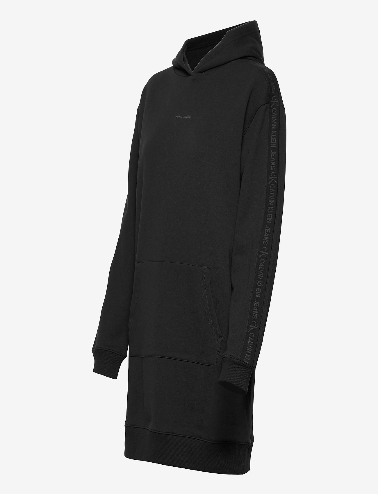 Calvin Klein Jeans - LOGO TRIM HOODIE DRESS - summer dresses - ck black - 2