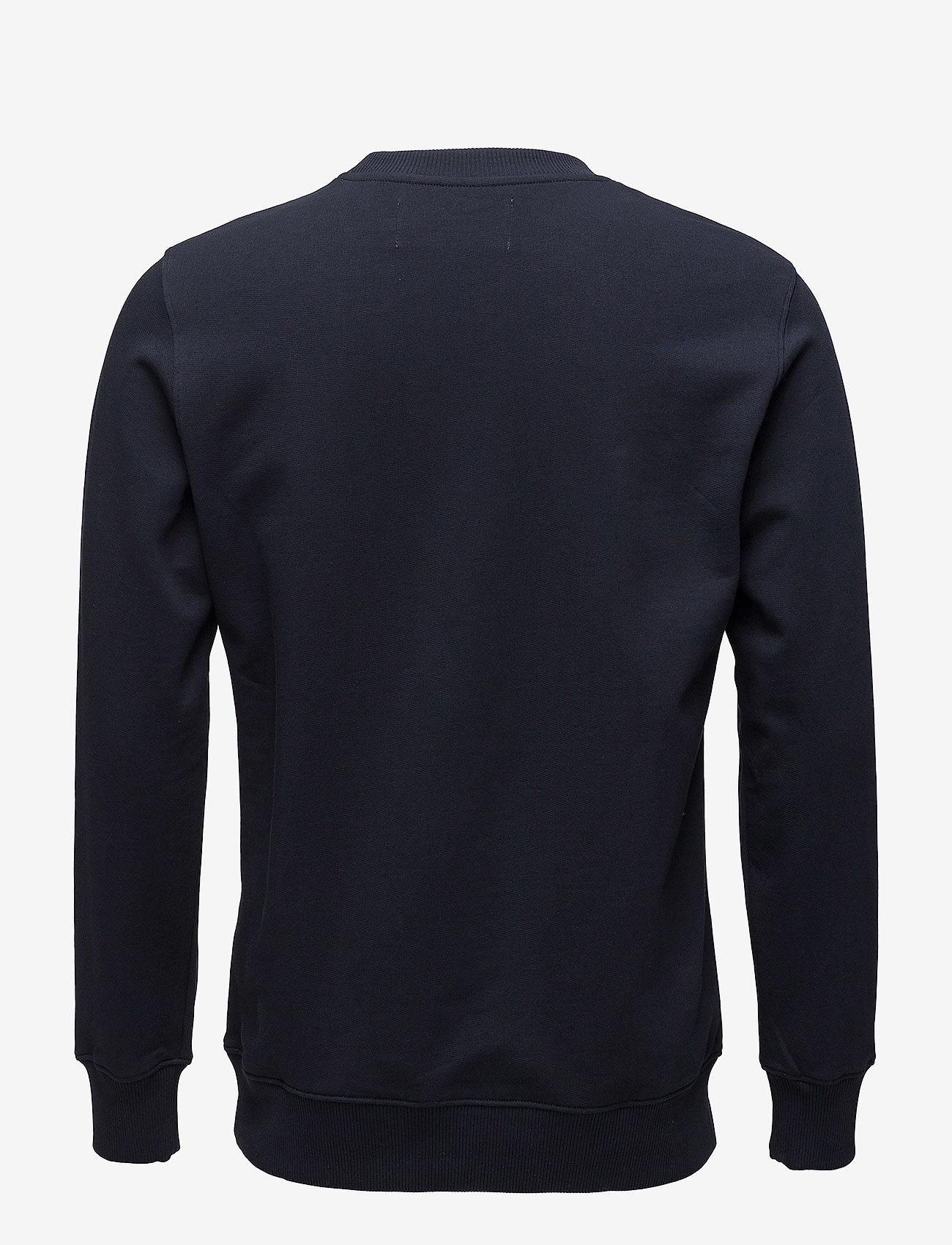 Calvin Klein Jeans - CORE INSTITUTIONAL LOGO SWEATSHIRT - truien - night sky - 1