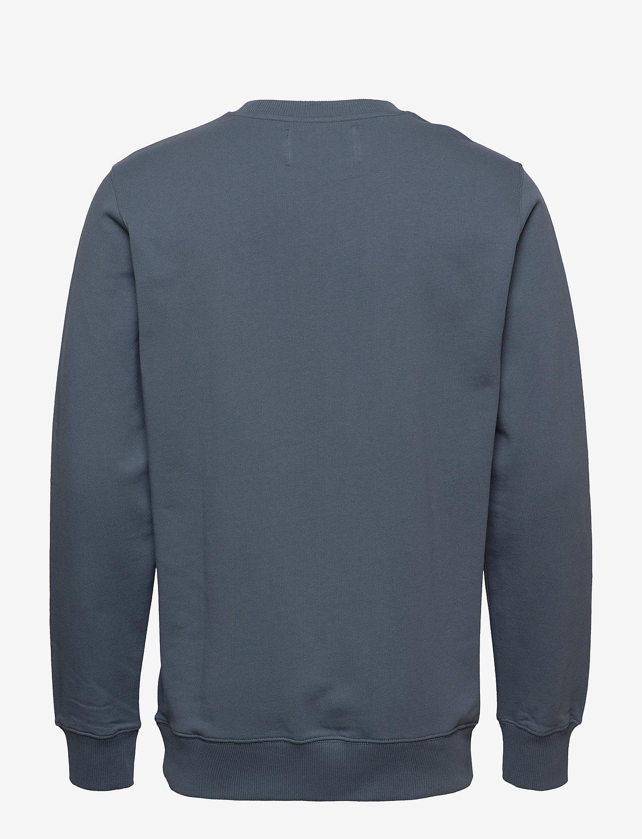 Calvin Klein Jeans - INSTITUTIONAL LOGO SWEATSHIRT - svetarit - orion blue
