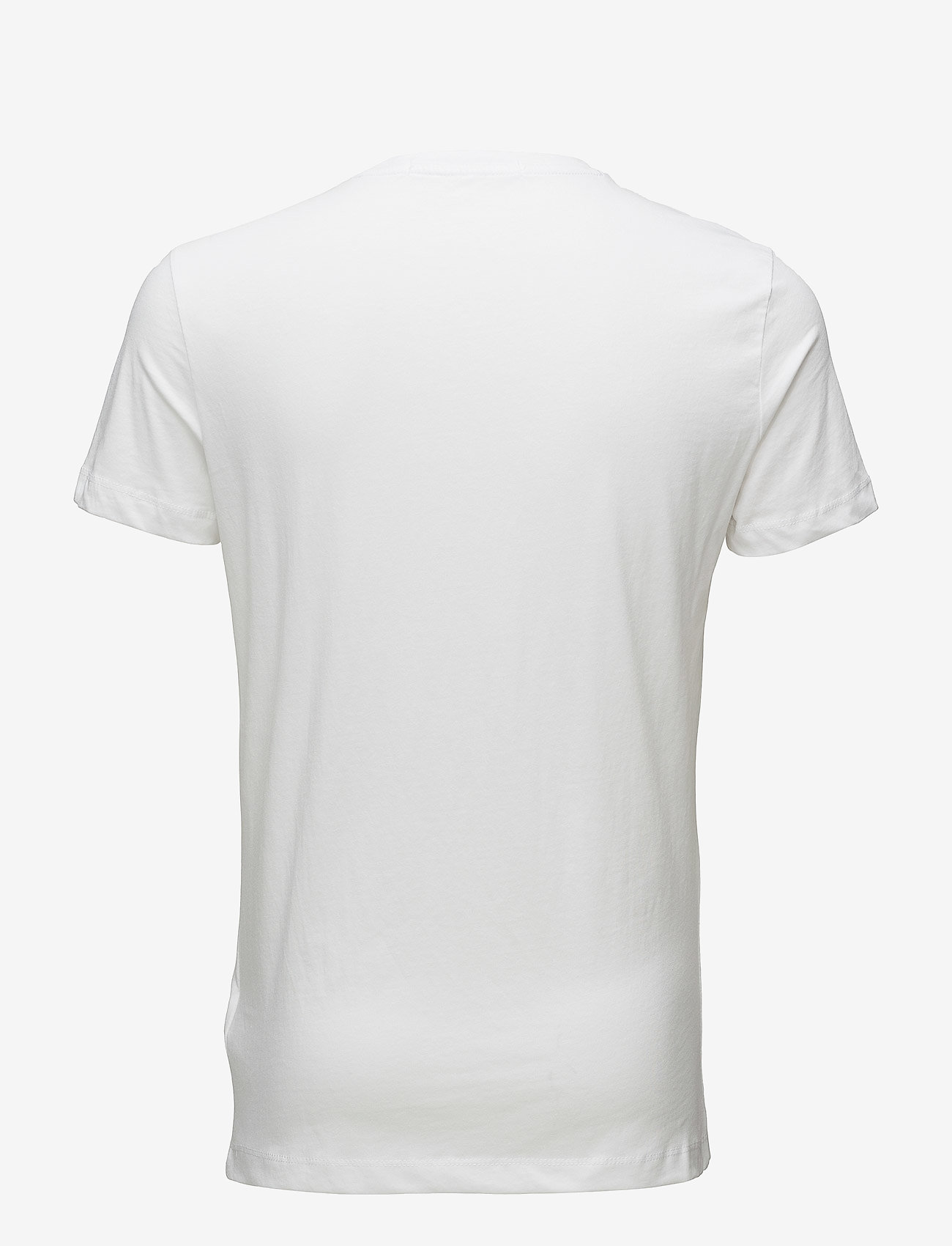 Calvin Klein Jeans - CORE INSTITUTIONAL LOGO SLIM TEE - kortermede t-skjorter - bright white - 1