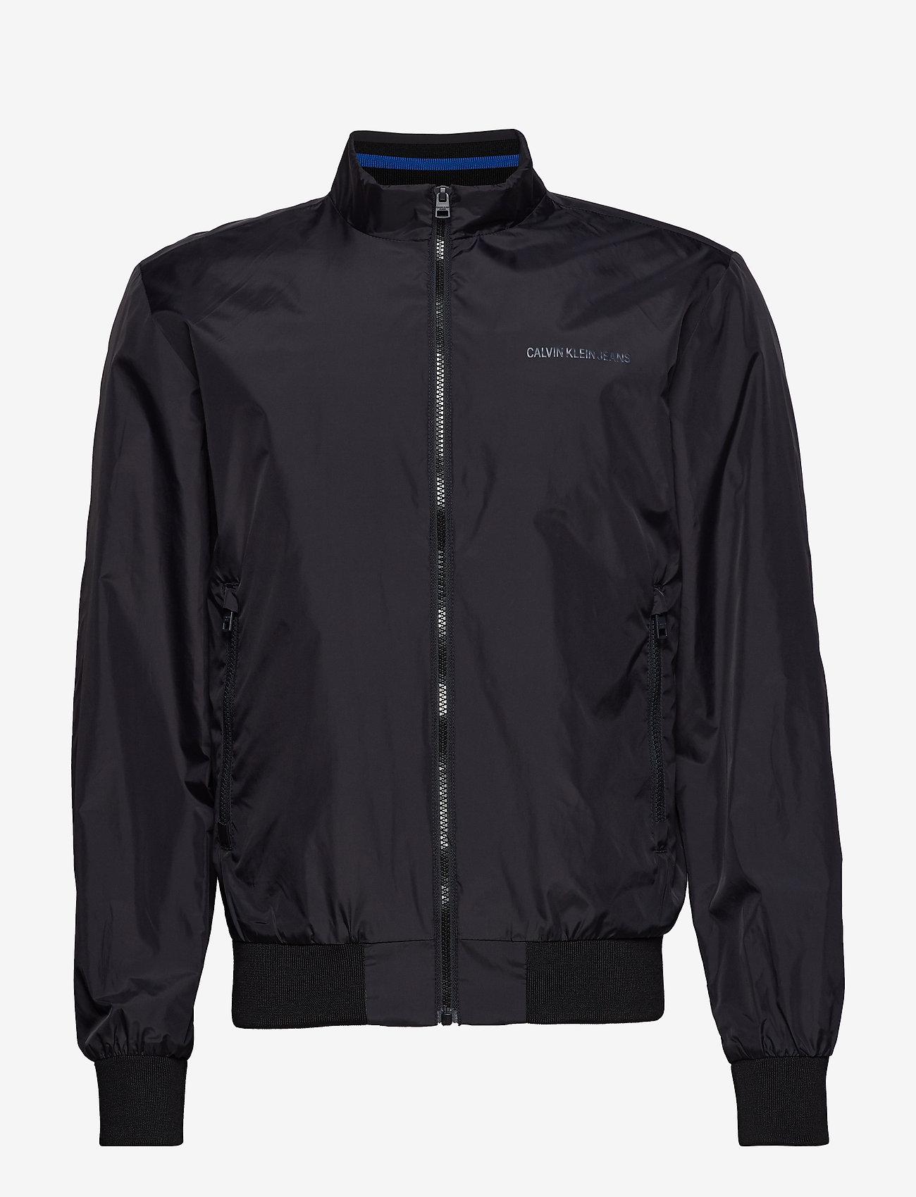 Core Nylon Jacket (Ck Black) - Calvin Klein Jeans Bz7ipt