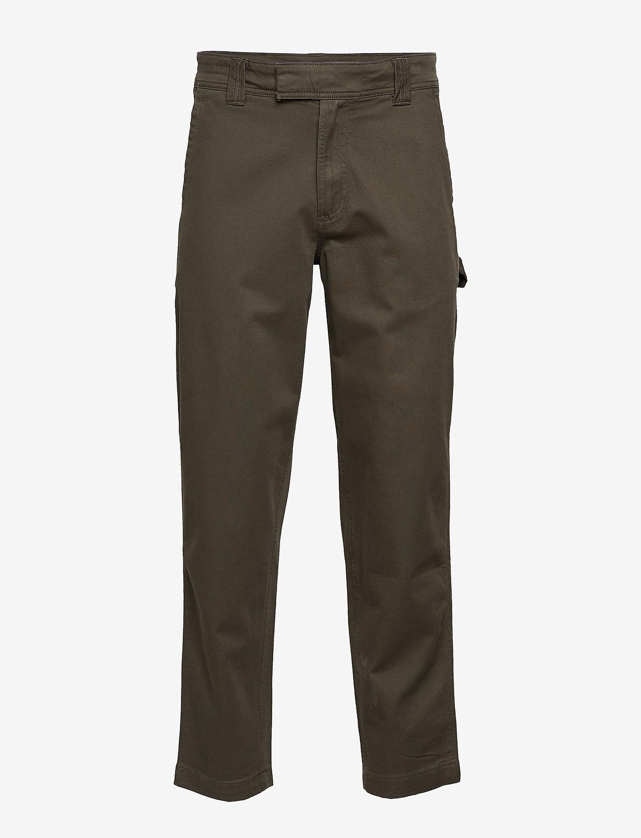 Calvin Klein Jeans - 056 GINOK UTILITY PANT - bojówki - grape leaf - 0