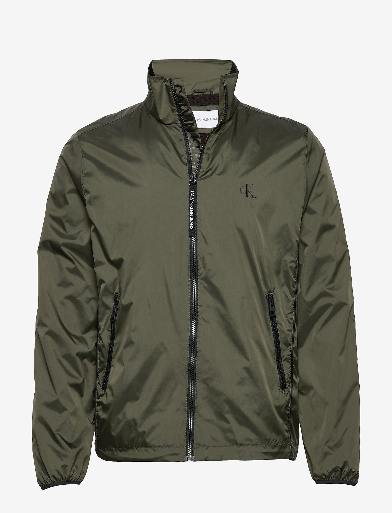 Calvin Klein Jeans - NYLON HARRINGTON - light jackets - deep depths - 0