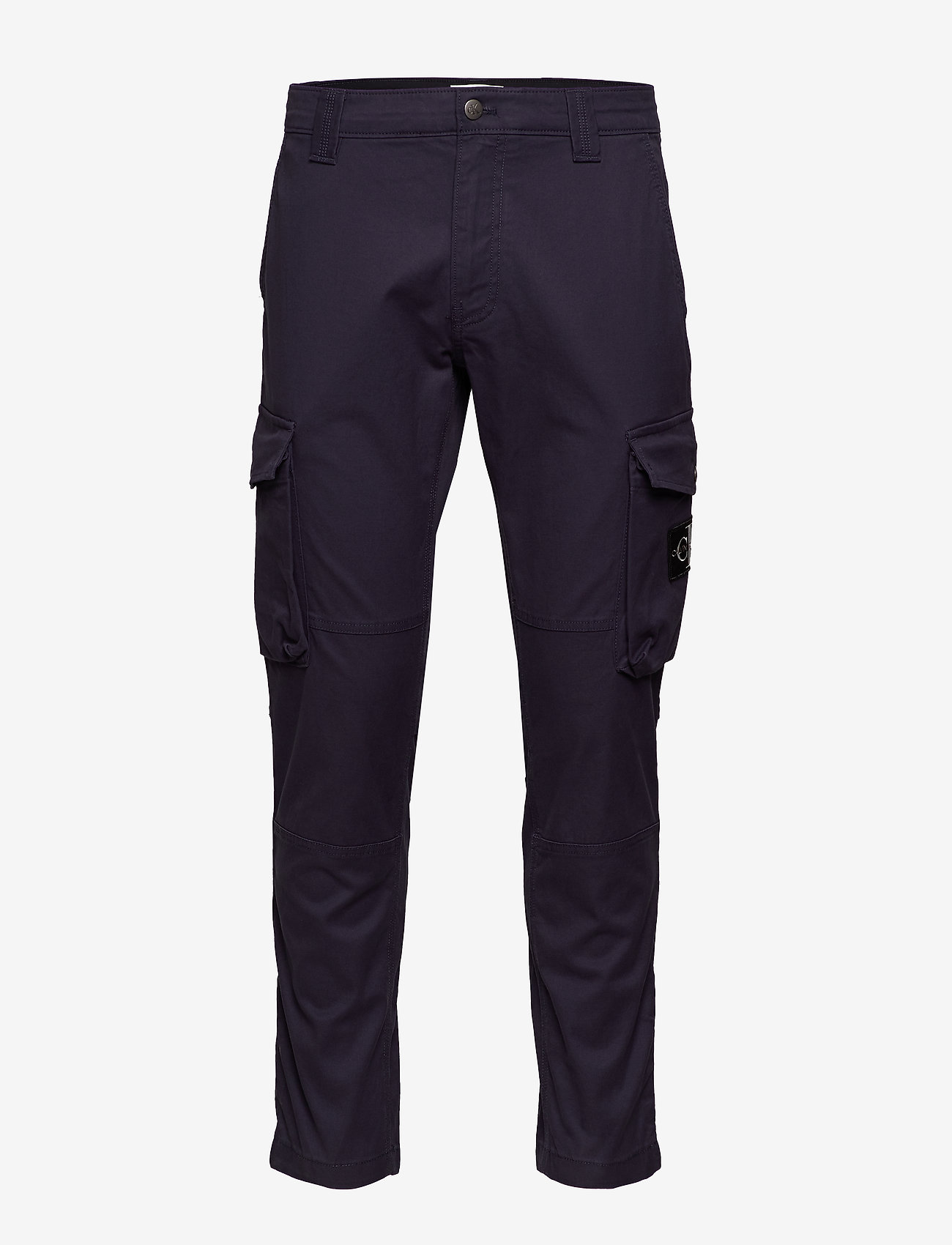 Calvin Klein Jeans - SKINNY WASHED CARGO PANT - cargo housut - night sky - 0