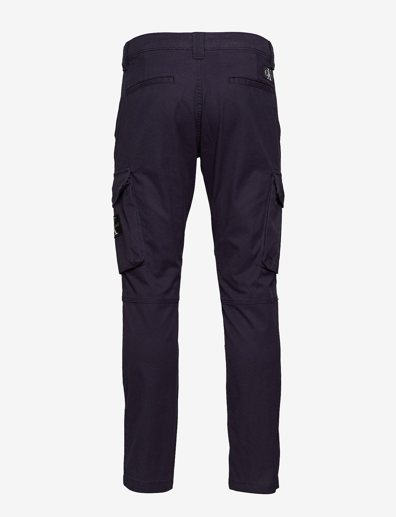 Calvin Klein Jeans - SKINNY WASHED CARGO PANT - bojówki - night sky - 1