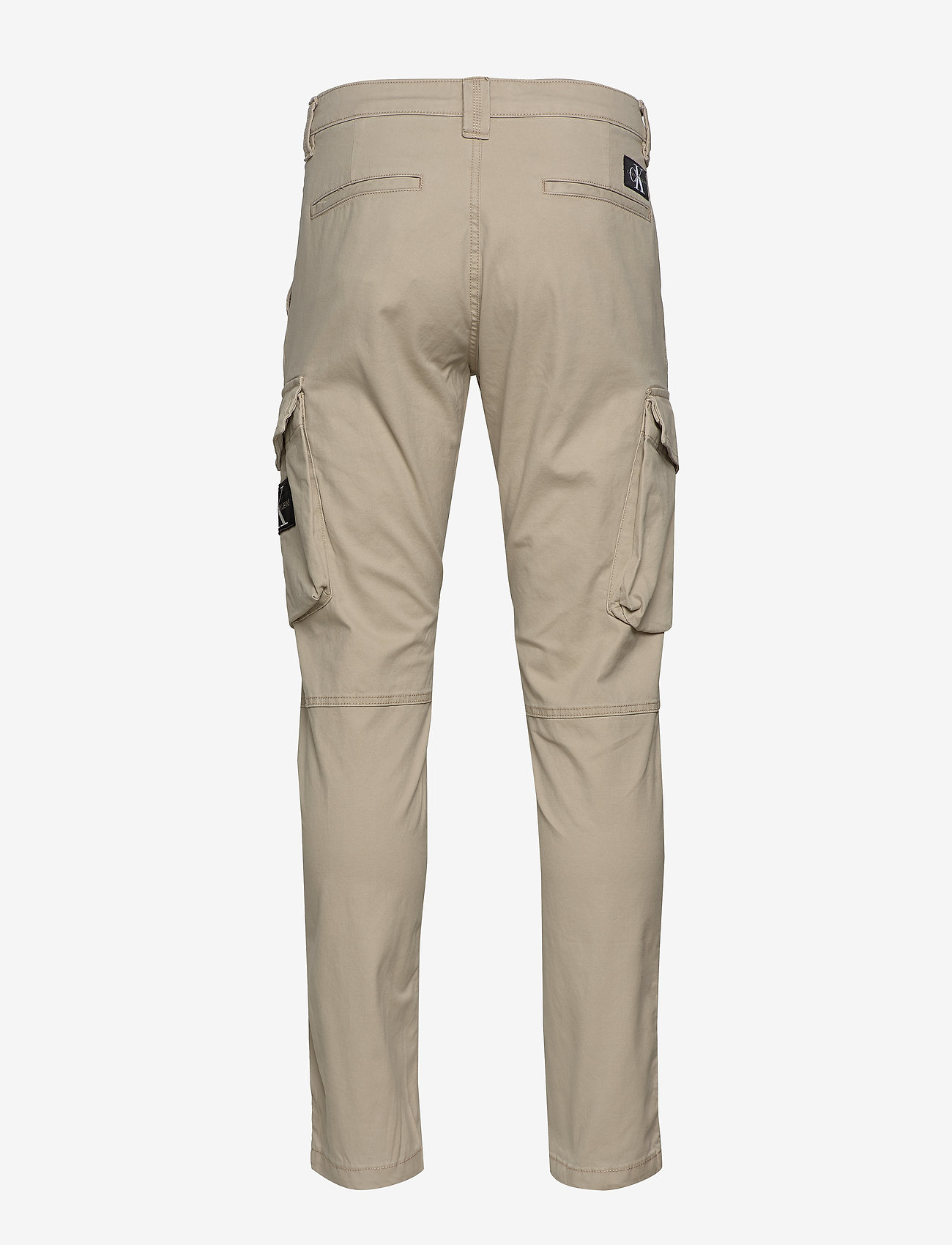 Calvin Klein Jeans - SKINNY WASHED CARGO PANT - cargo housut - plaza taupe - 1