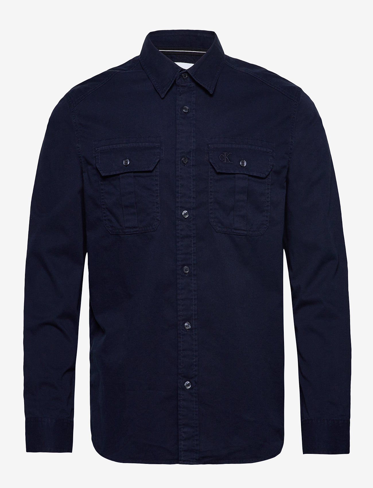 Calvin Klein Jeans - GMD TWILL UTILITY REG SHIRT - basic overhemden - night sky - 0