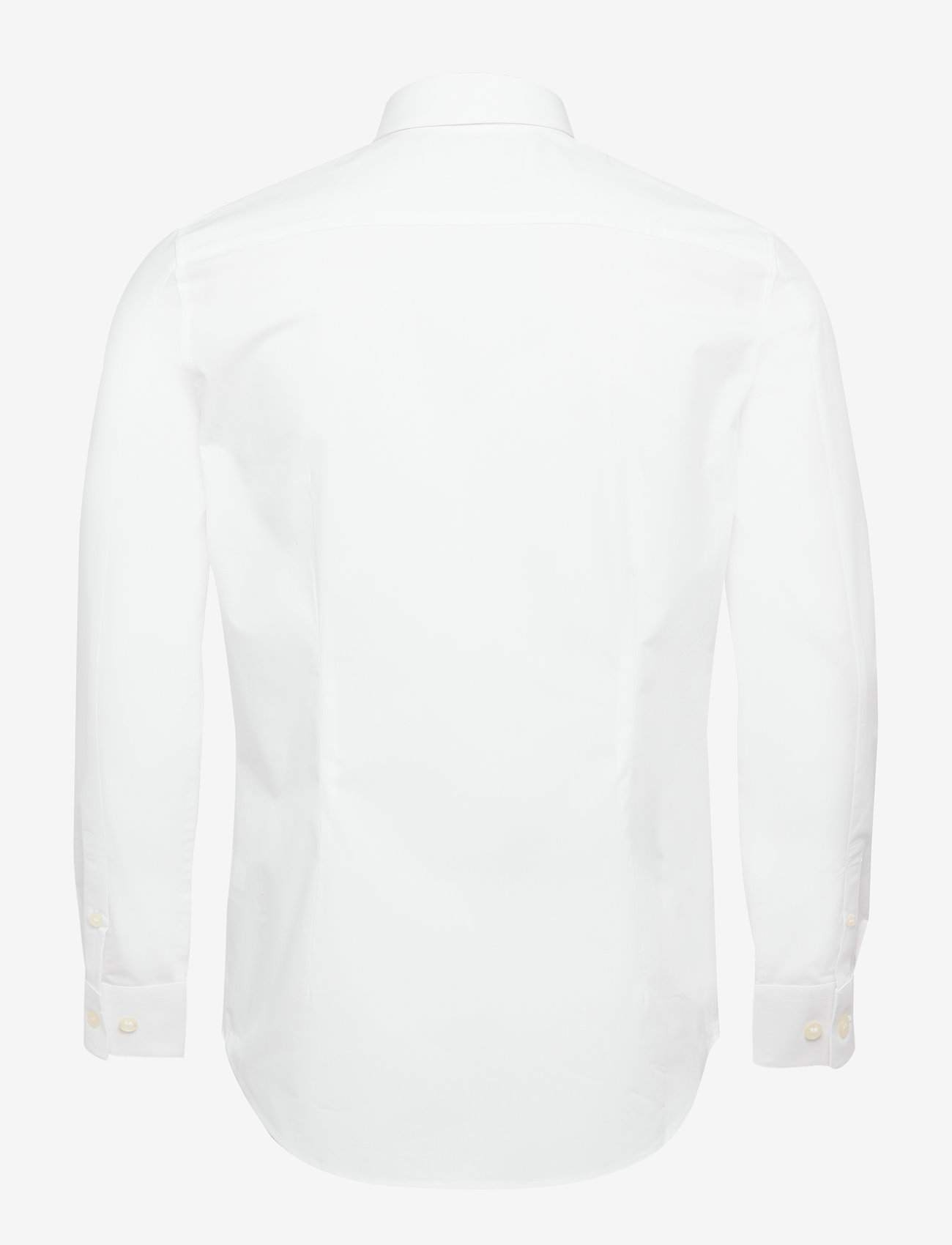Ck Chest Logo Slim Stretch Shirt (Bright White) - Calvin Klein Jeans ZlDOZS