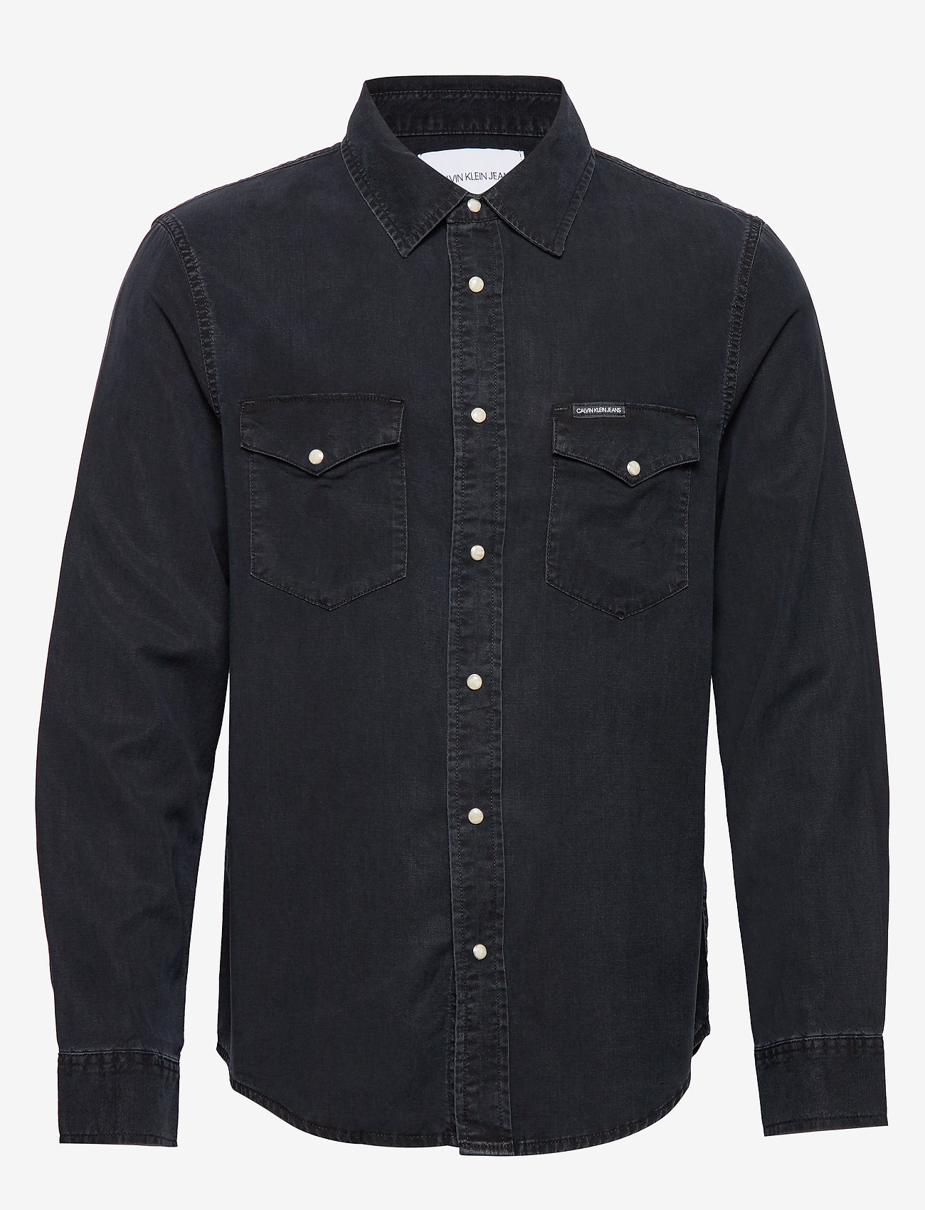Calvin Klein Jeans - MODERN WESTERN SHIRT - casual overhemden - ca082 blue black - 0
