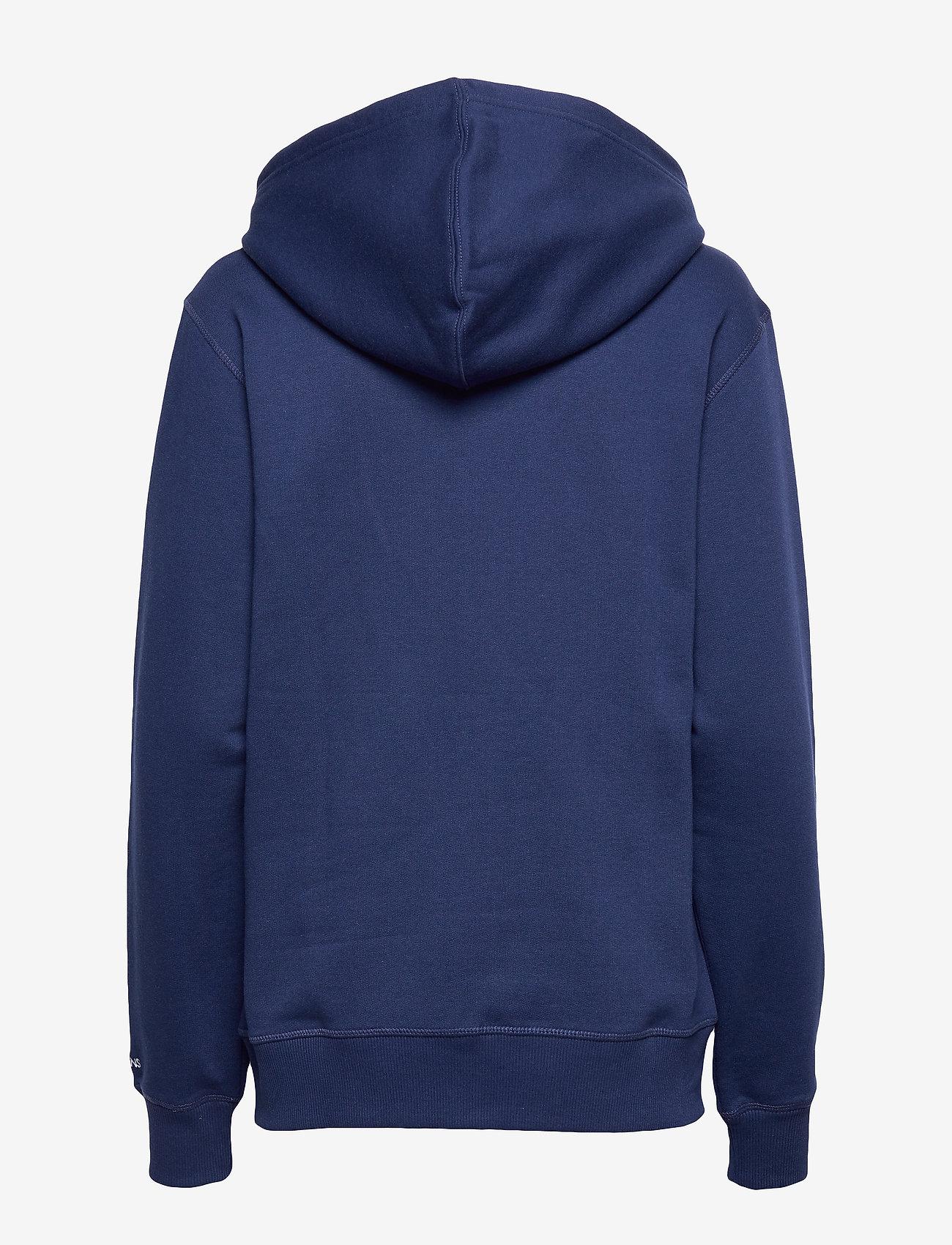 Calvin Klein Jeans - CK ESSENTIAL REG ZIP THROUGH - basic sweatshirts - blueprint - 1