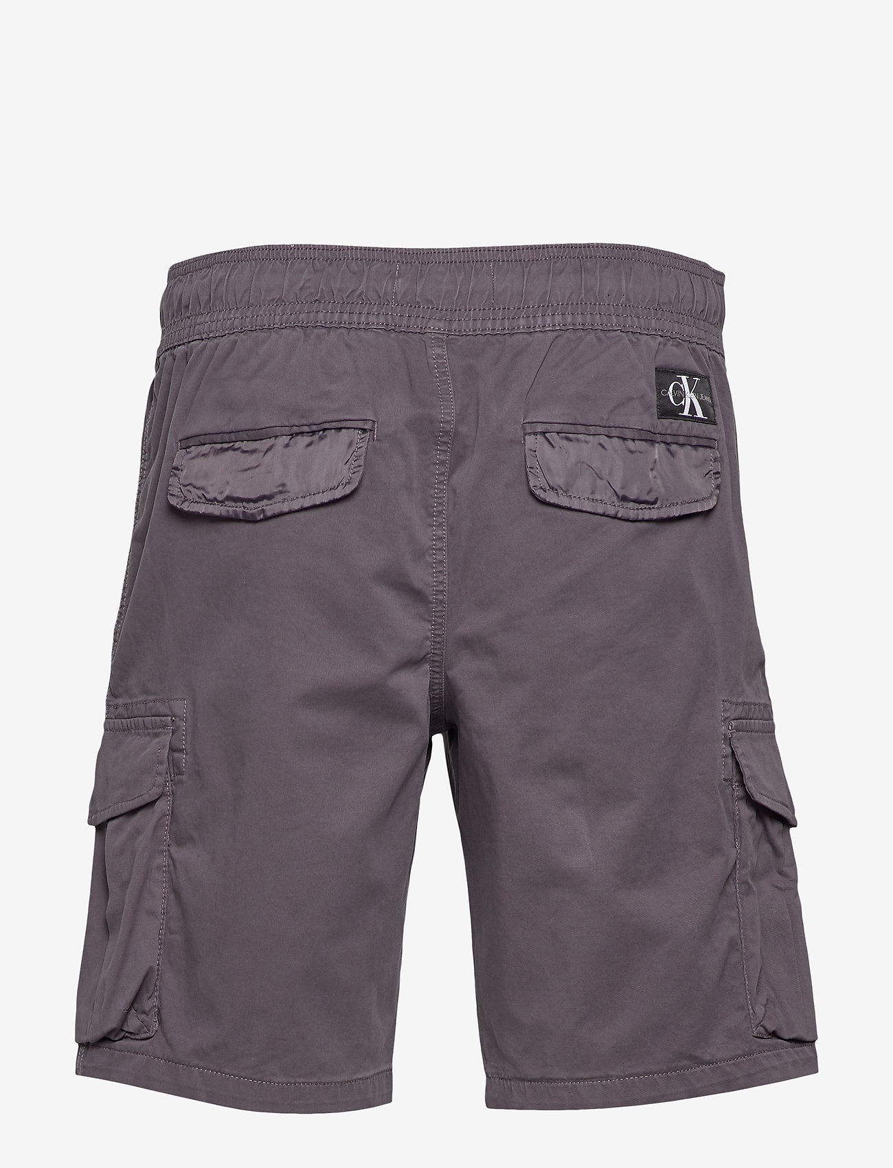 Calvin Klein Jeans - SIMPLE WASHED CARGO SHORT - cargo shorts - abstract grey - 1