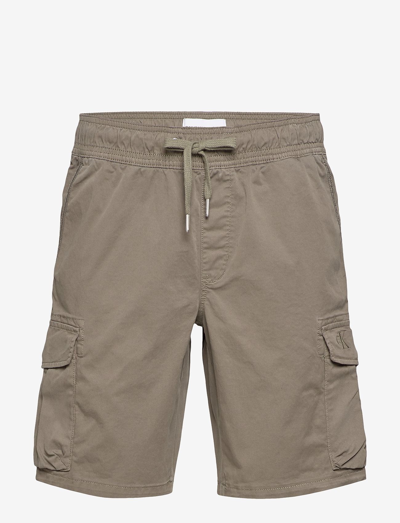 Calvin Klein Jeans - SIMPLE WASHED CARGO SHORT - cargo shorts - new basil - 0