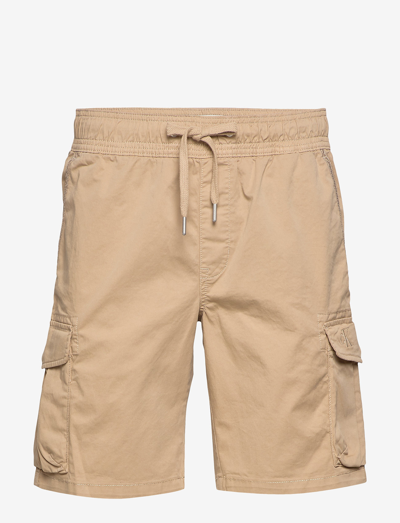 Calvin Klein Jeans - SIMPLE WASHED CARGO SHORT - cargo shorts - travertine - 0