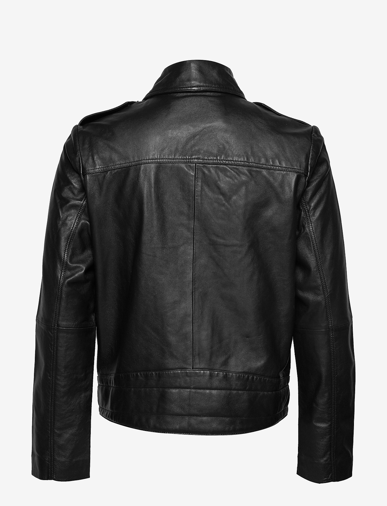 Calvin Klein Jeans - PERFECTO JACKET - nahkatakit - ck black - 1