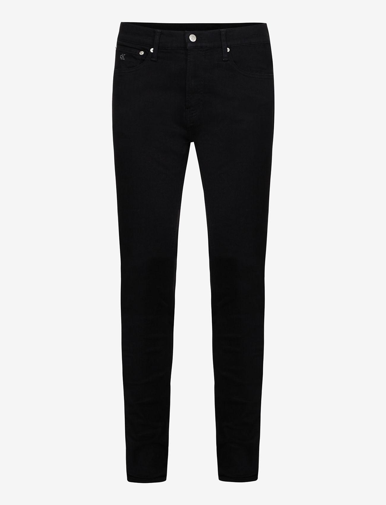 Calvin Klein Jeans - SUPER SKINNY - skinny jeans - denim black - 0