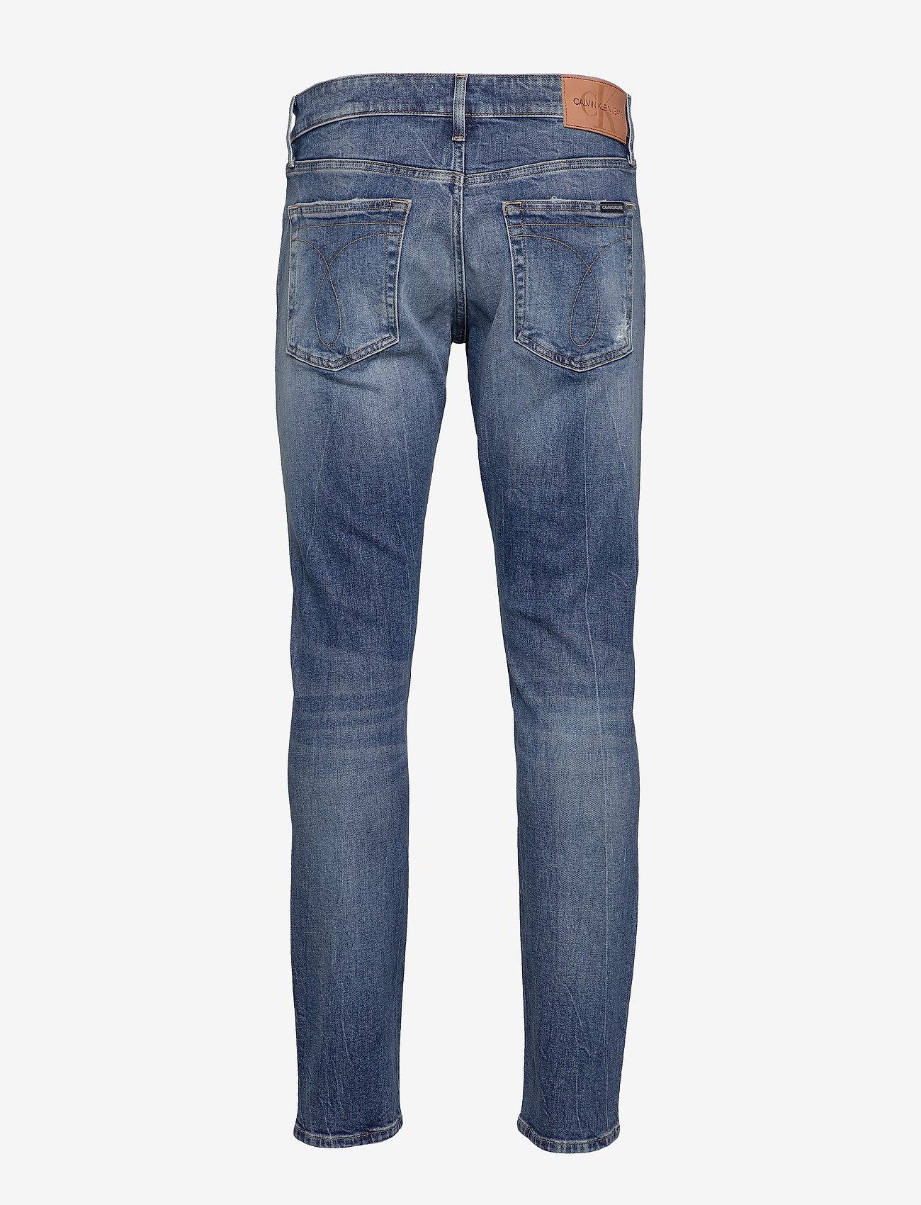 Ckj 026 Slim (Ab035 Mid Blue Dstr) - Calvin Klein Jeans D4wb2m
