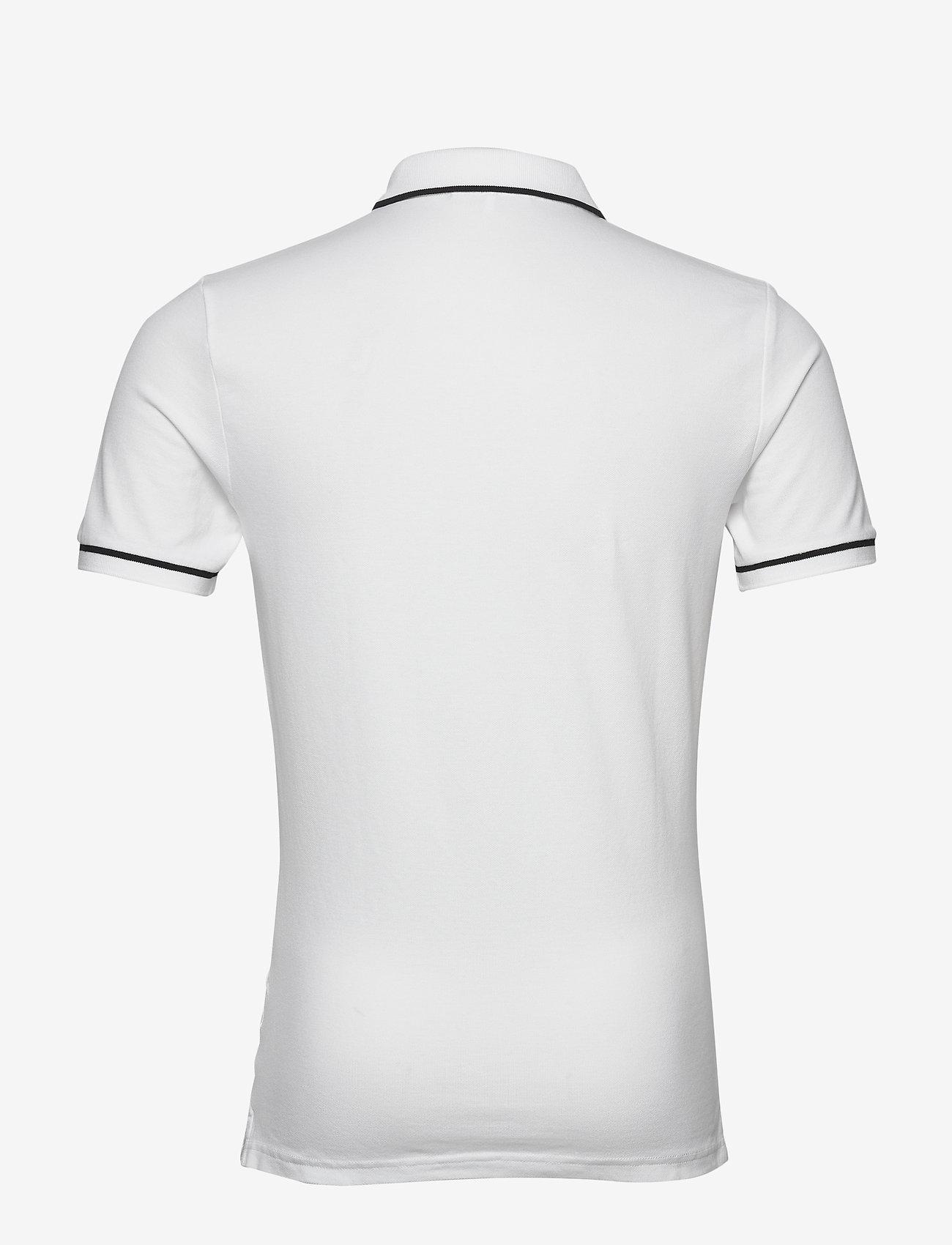 Calvin Klein Jeans - TIPPING SLIM POLO - korte mouwen - bright white - 1