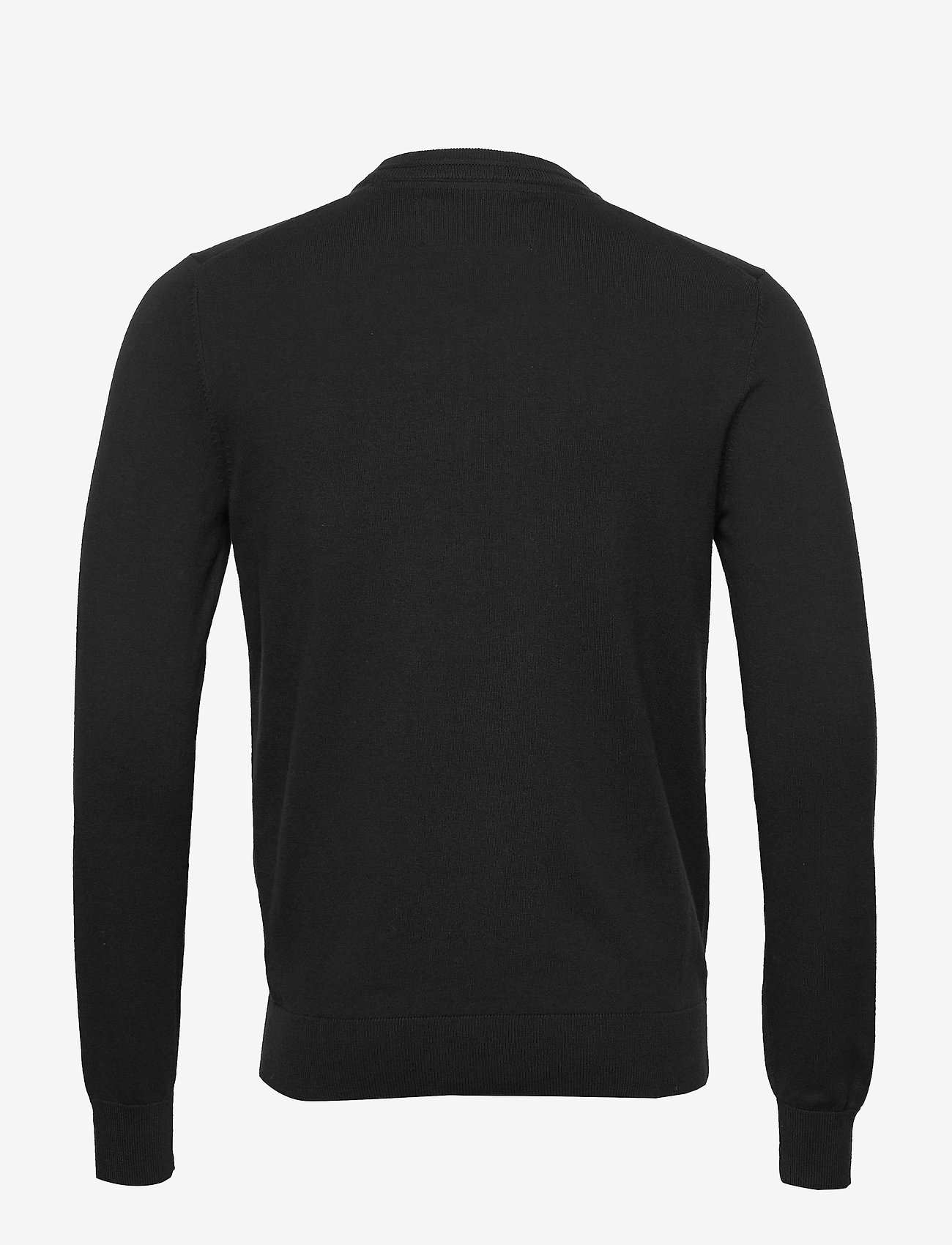 Essential Crew Neck Sweater (Ck Black) - Calvin Klein Jeans E7bjbI