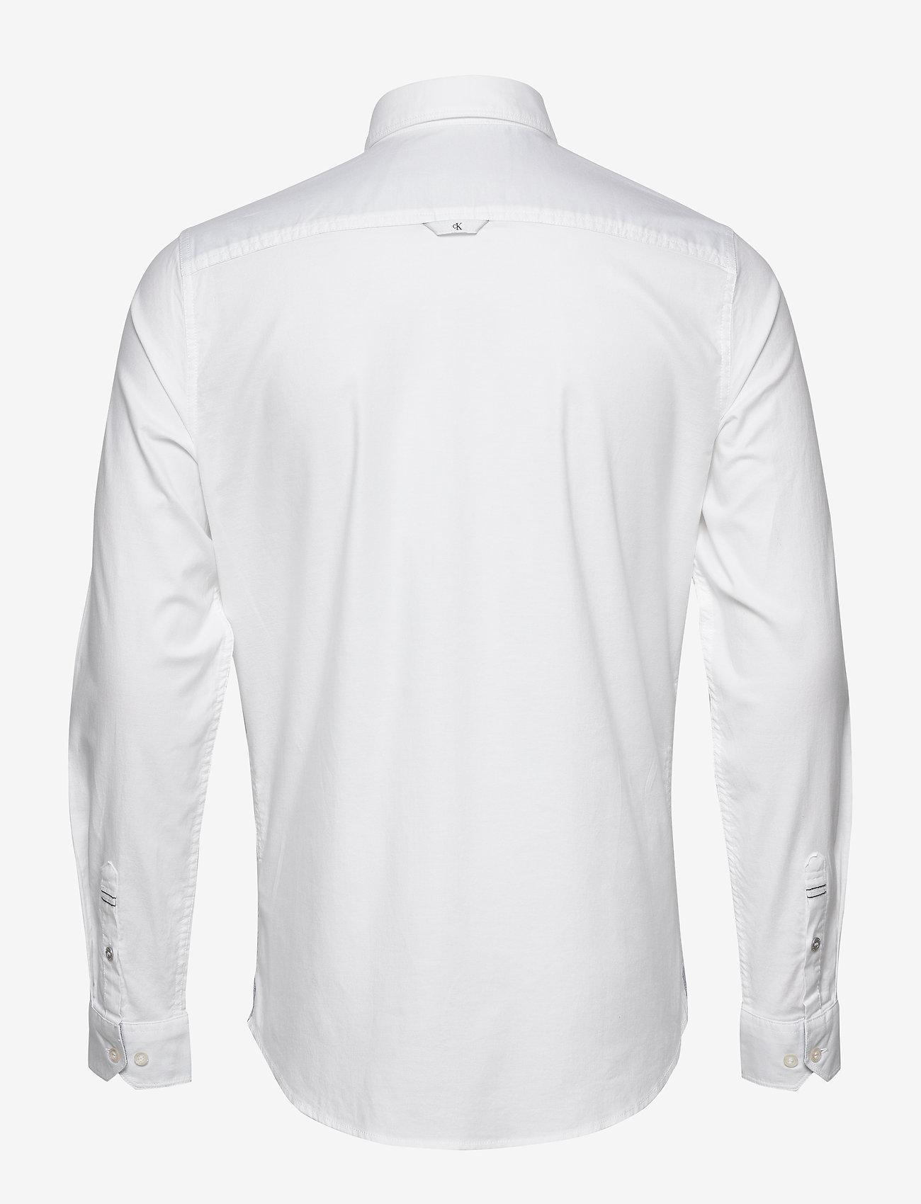 Calvin Klein Jeans - CHAMBRAY SLIM STRETCH - basic overhemden - bright white - 1