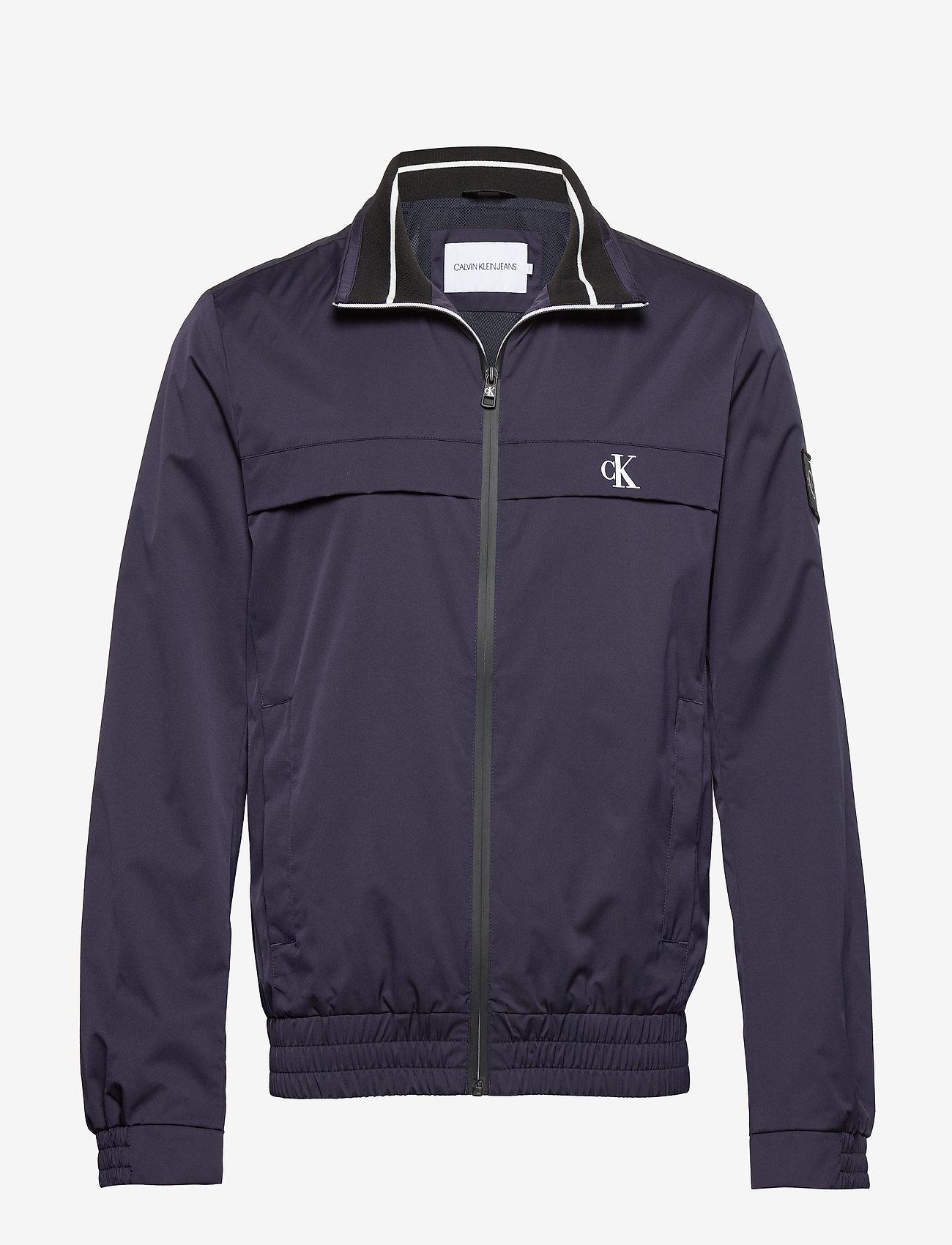 Calvin Klein Jeans - ZIP UP HARRINGTON - kurtki-wiosenne - night sky - 0