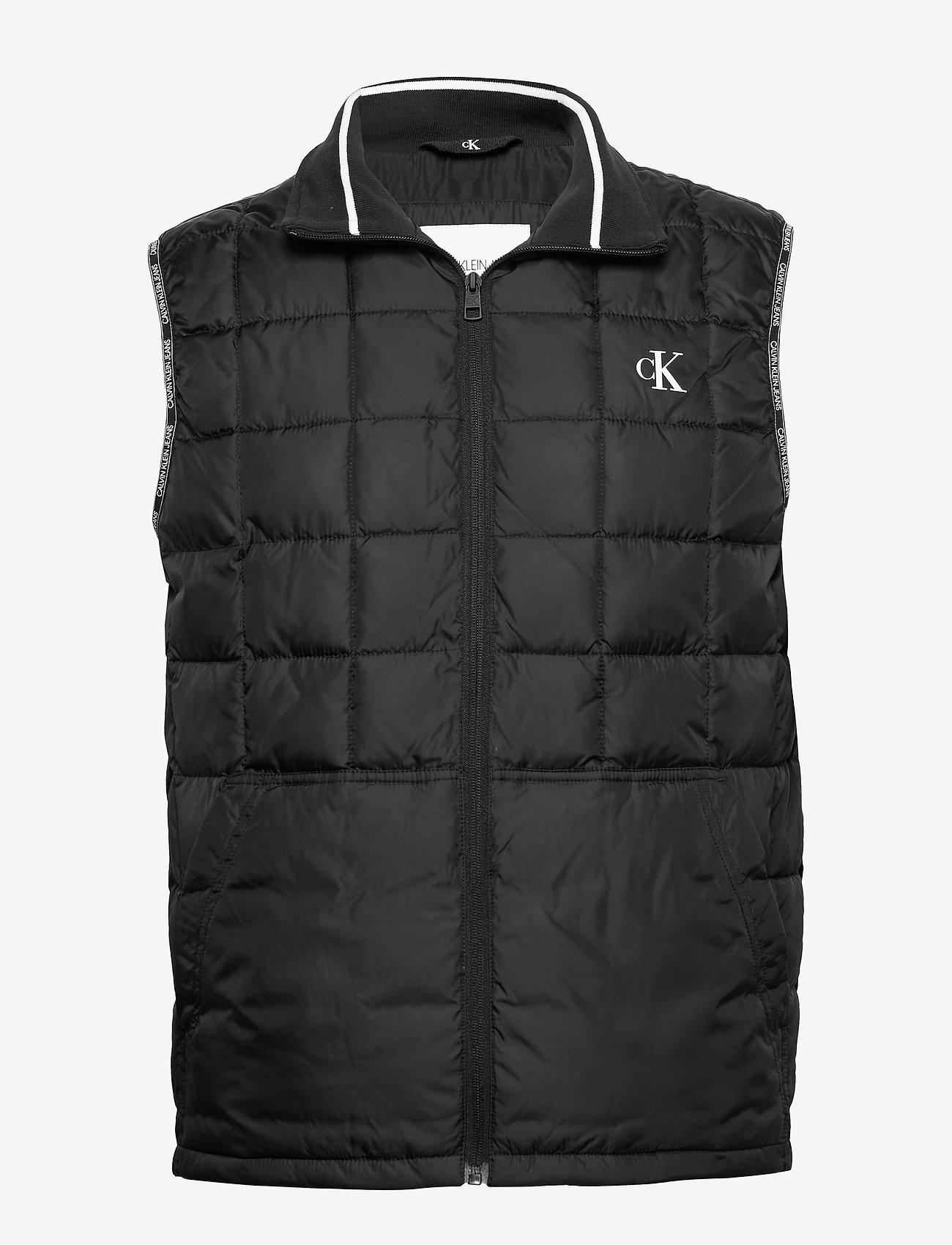 Calvin Klein Jeans - PADDED GILET - vests - ck black - 0