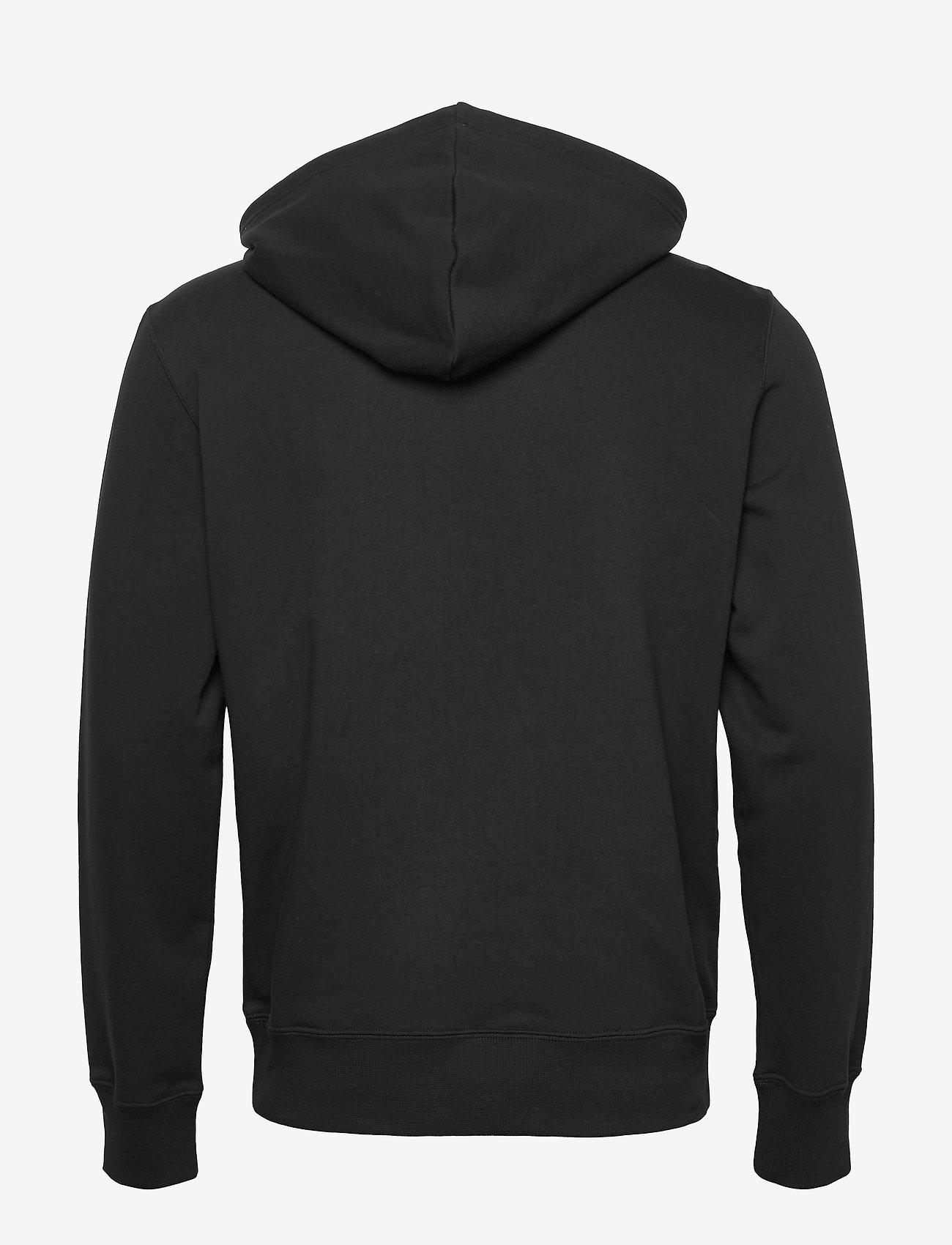 Calvin Klein Jeans - WAVE PHOTOPRINT HOODIE - hoodies - ck black - 1