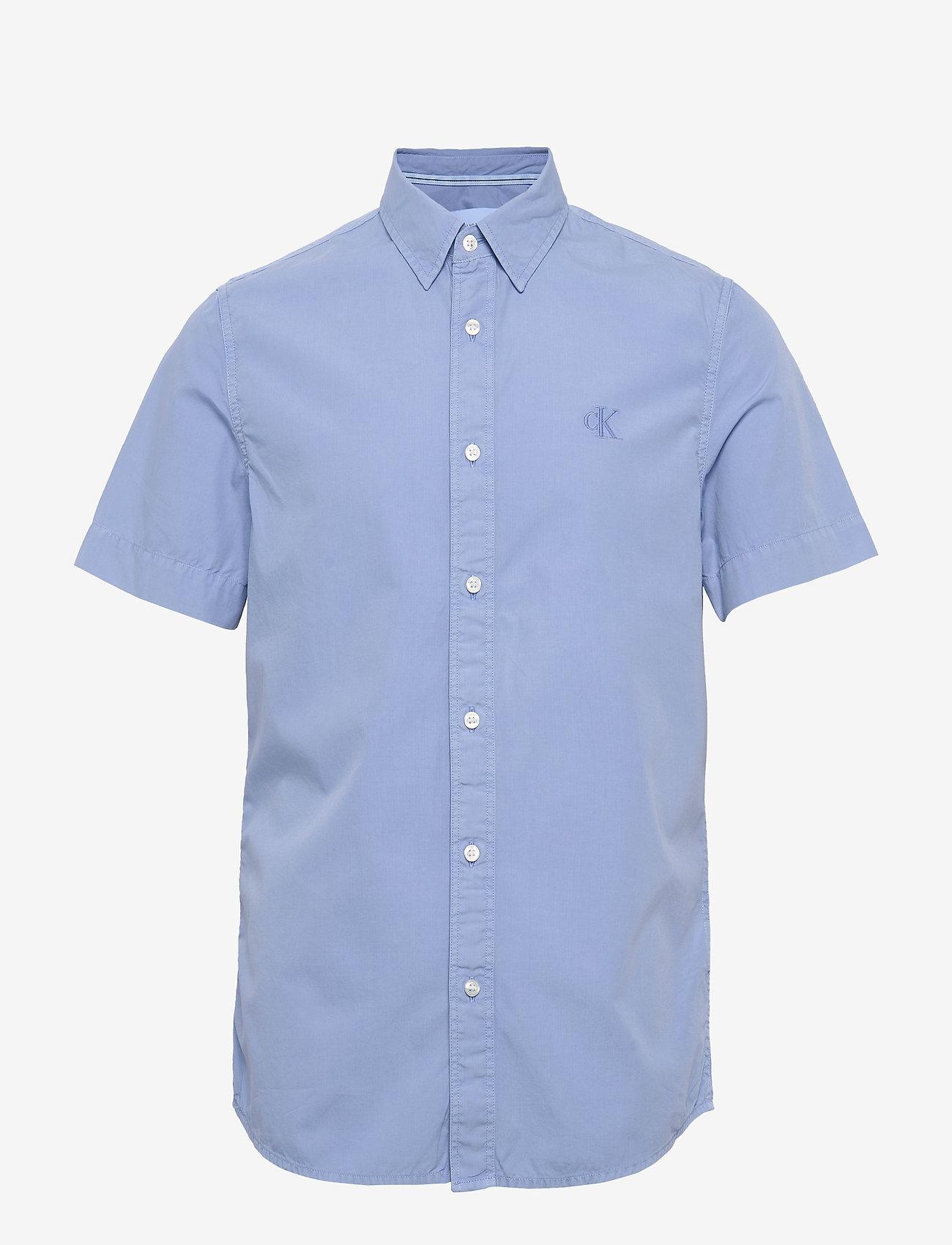 Calvin Klein Jeans - GMD 40' POPLIN SS SHIRT - basic overhemden - chambray blue - 0