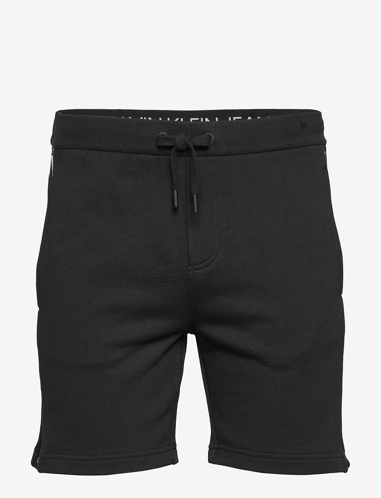 Calvin Klein Jeans - SIDE LOGO HWK SHORT - casual shorts - ck black - 0