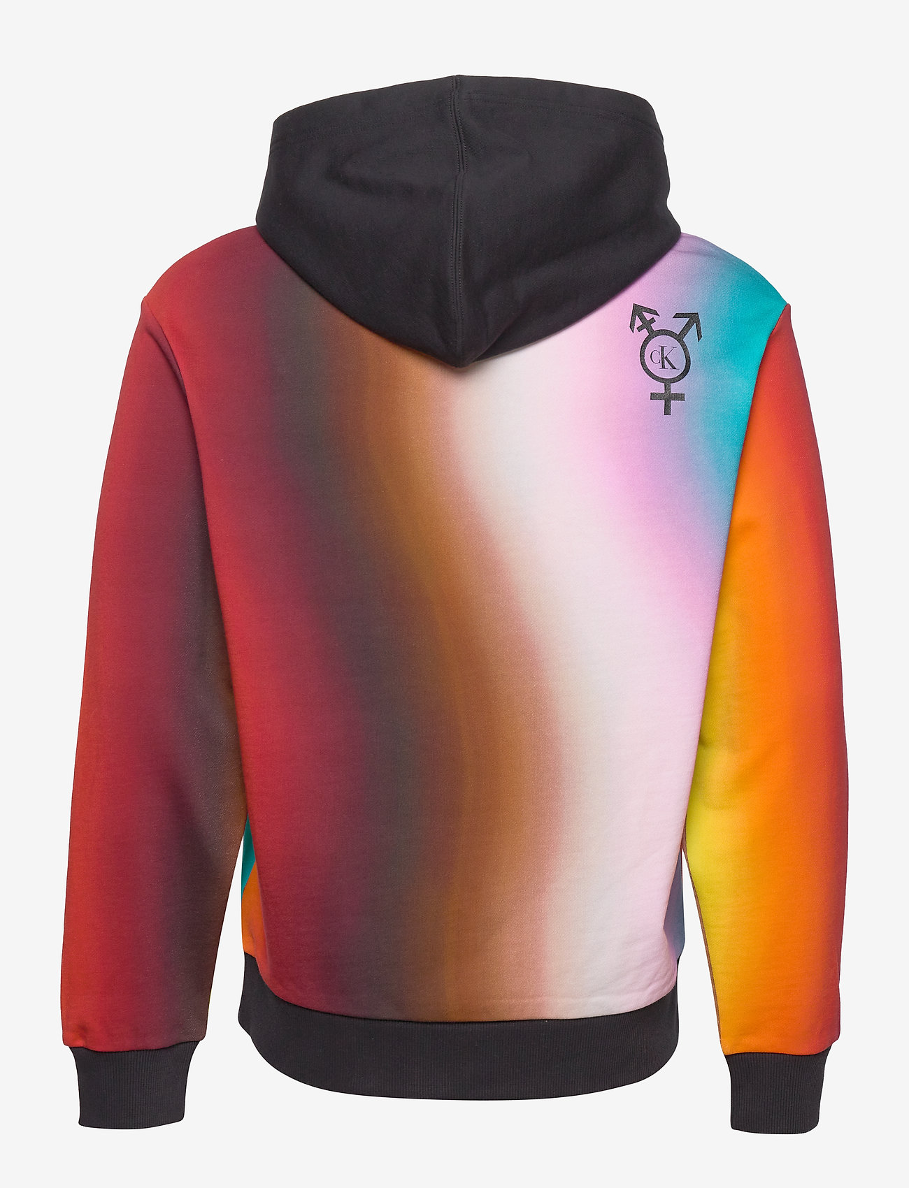 Calvin Klein Jeans - BLUR AOP RELAX - hupparit - rainbow blur aop