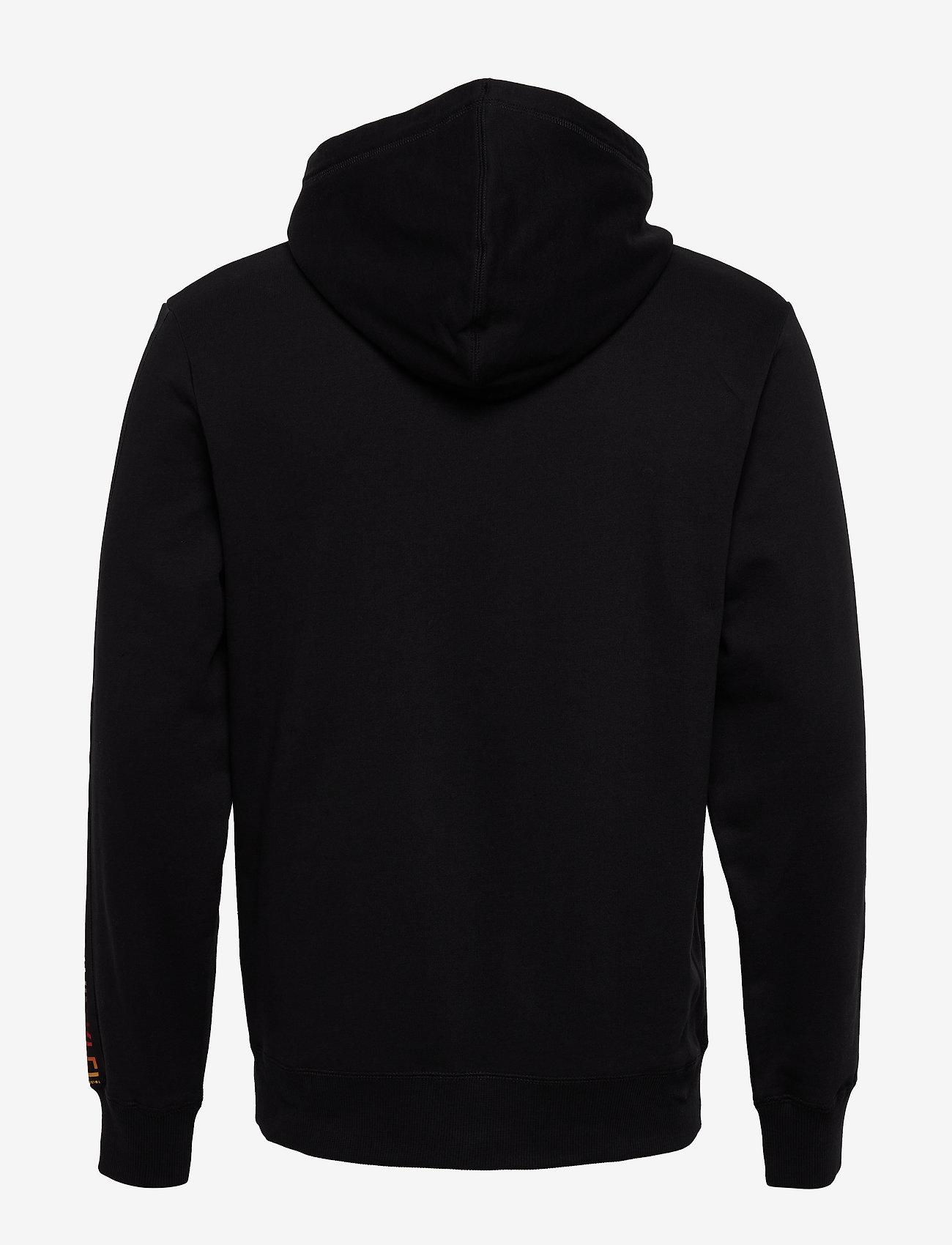 Calvin Klein Jeans - SMALL FLAG REG - hupparit - ck black