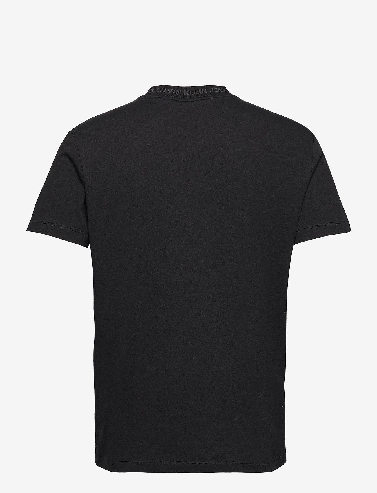 Calvin Klein Jeans - LOGO JACQUARD TEE - t-shirts basiques - ck black - 1