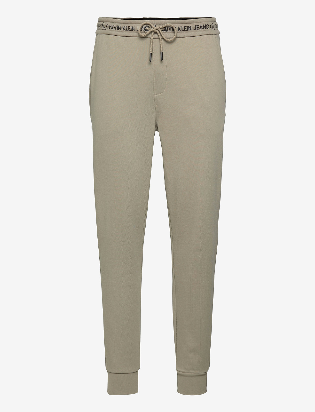 Calvin Klein Jeans - LOGO JACQUARD HWK PANT - vêtements - elephant skin - 0