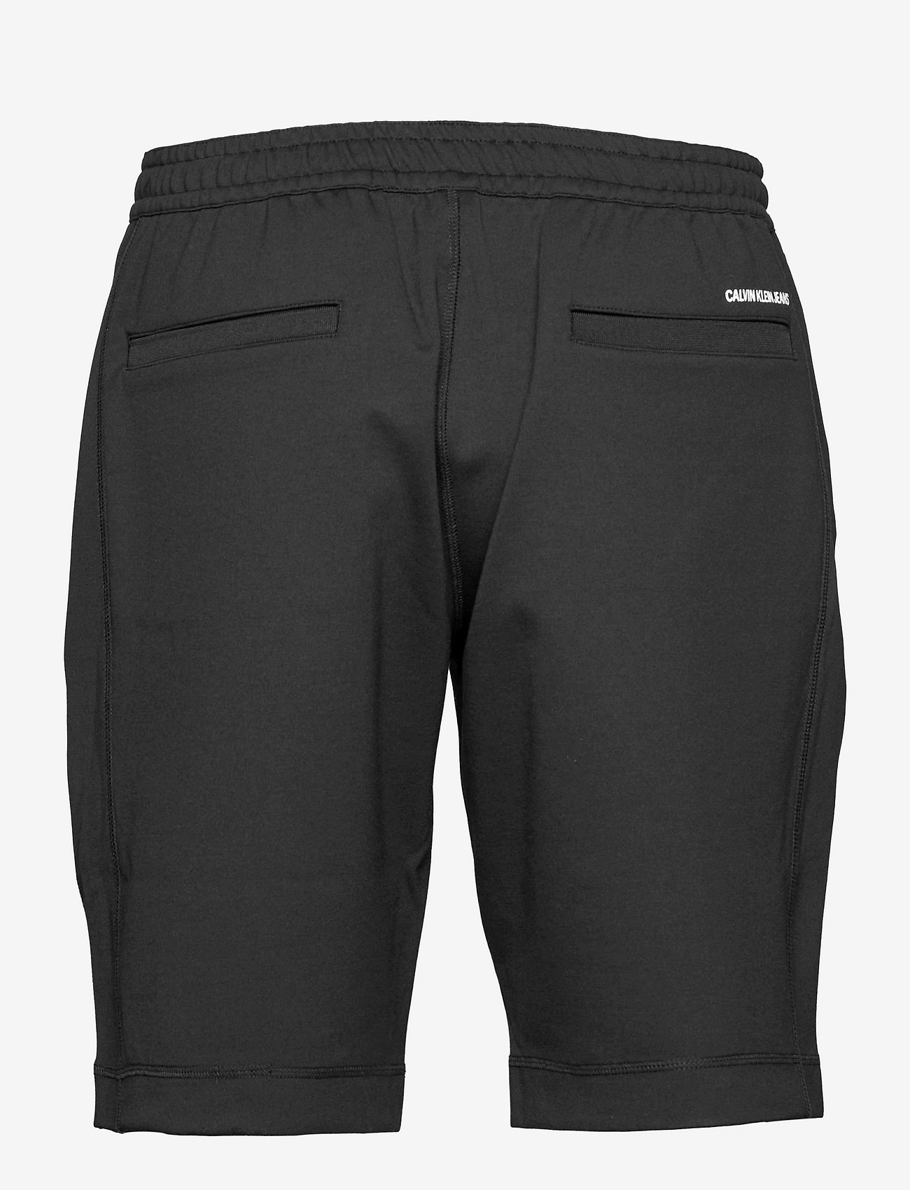 Calvin Klein Jeans - SUSTAINABLE MILANO SHORT - casual shorts - ck black - 1