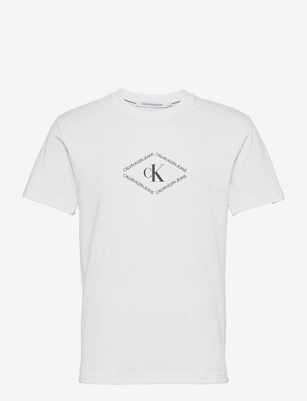 Calvin Klein Jeans - URBAN SKATE BACK GRAPHIC S/S TEE - t-shirts à manches courtes - bright white - 0