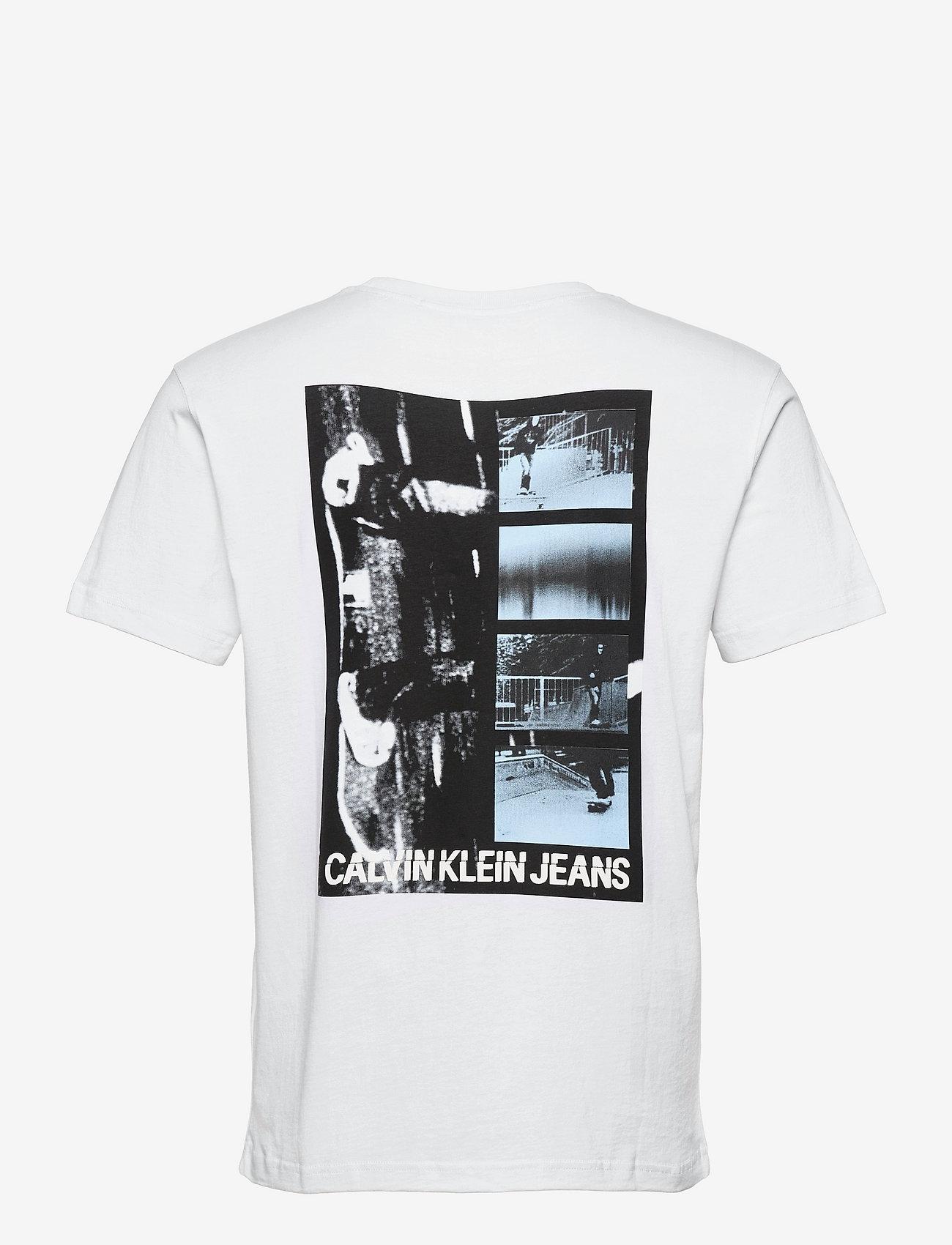 Calvin Klein Jeans - URBAN SKATE BACK GRAPHIC S/S TEE - t-shirts à manches courtes - bright white - 1