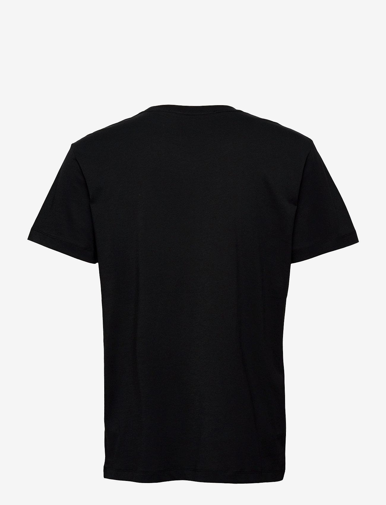 Calvin Klein Jeans - CK MONOGRAM WATERBASE TEE - korte mouwen - ck black - 1