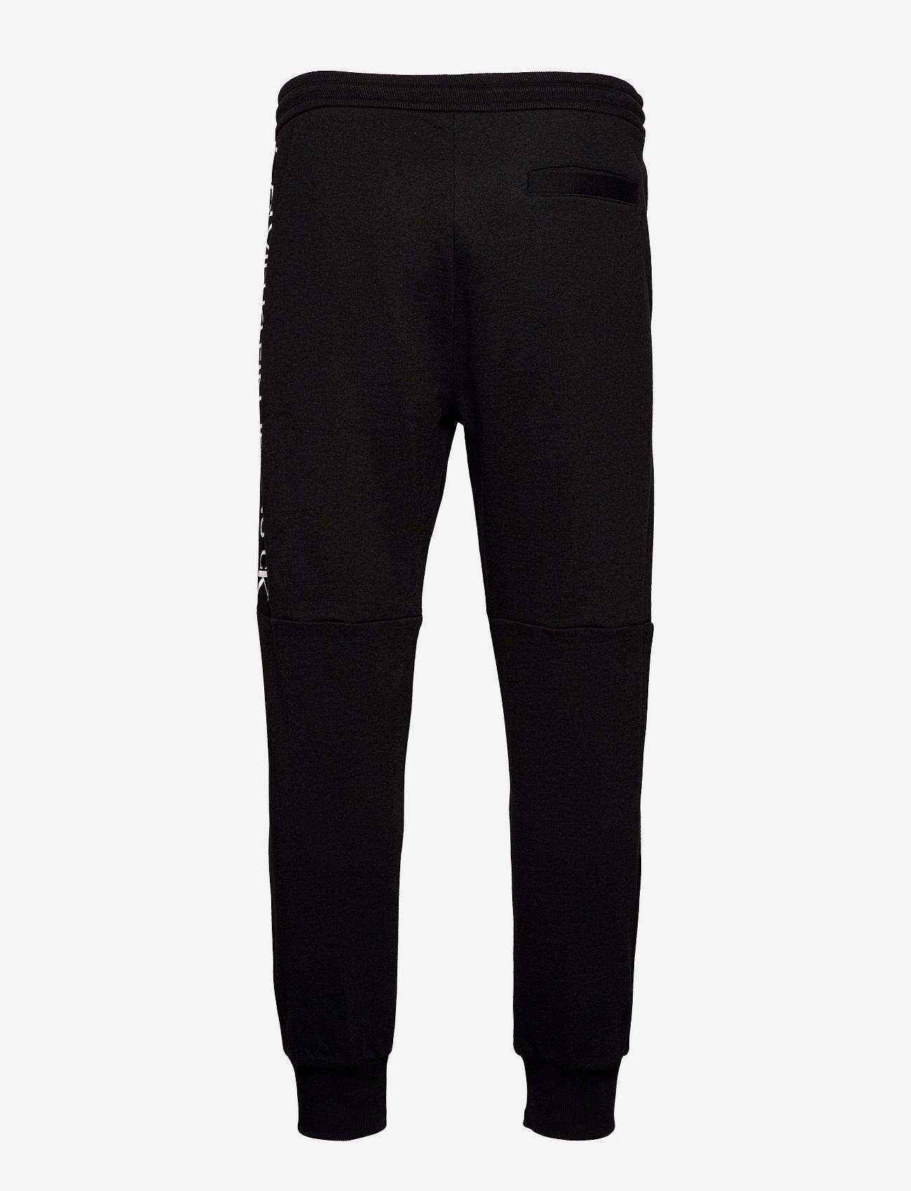 Calvin Klein Jeans - MIRROR LOGO HWK PANT - kleding - ck black - 1