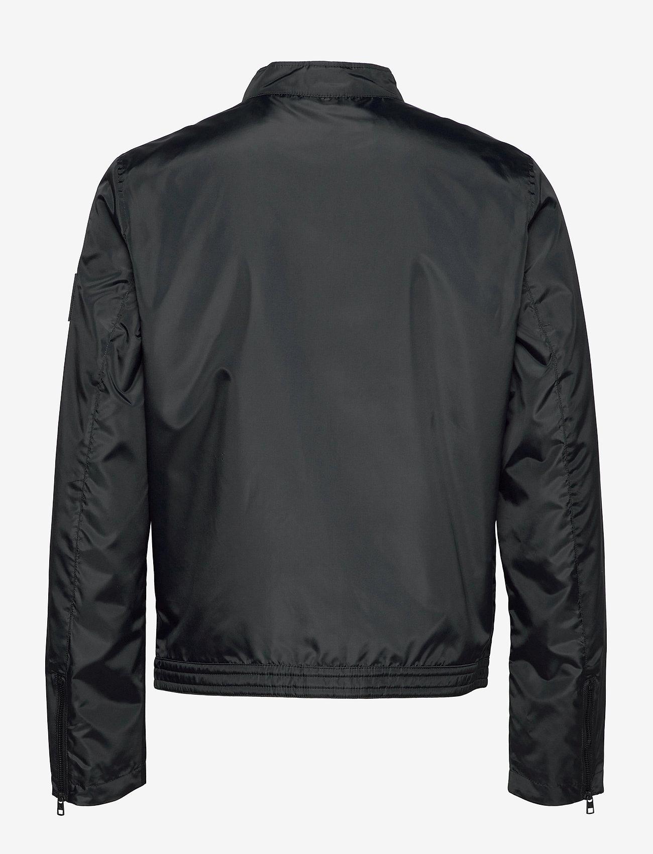 Calvin Klein Jeans - NYLON BIKER JACKET - windjassen - ck black - 1