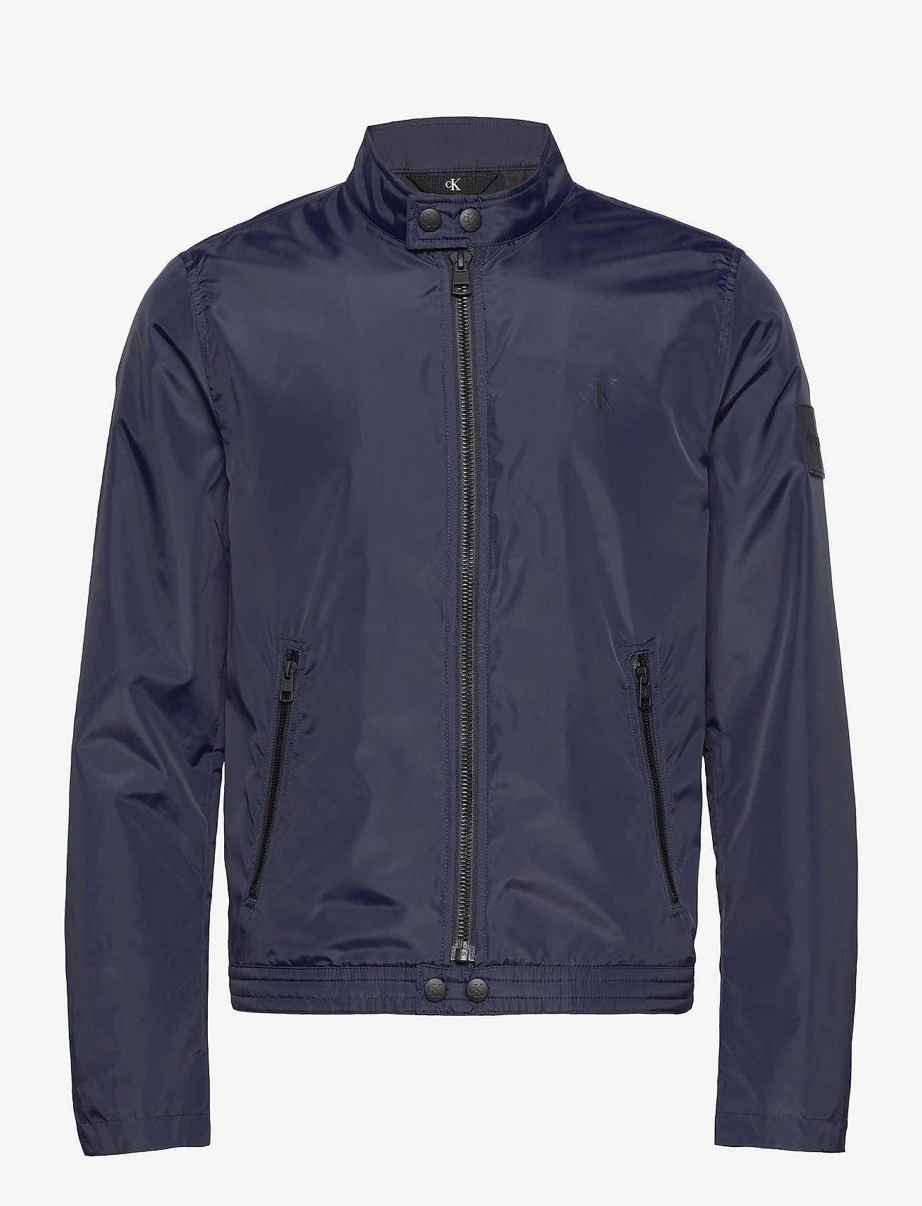 Calvin Klein Jeans - NYLON BIKER JACKET - vestes légères - night sky - 0