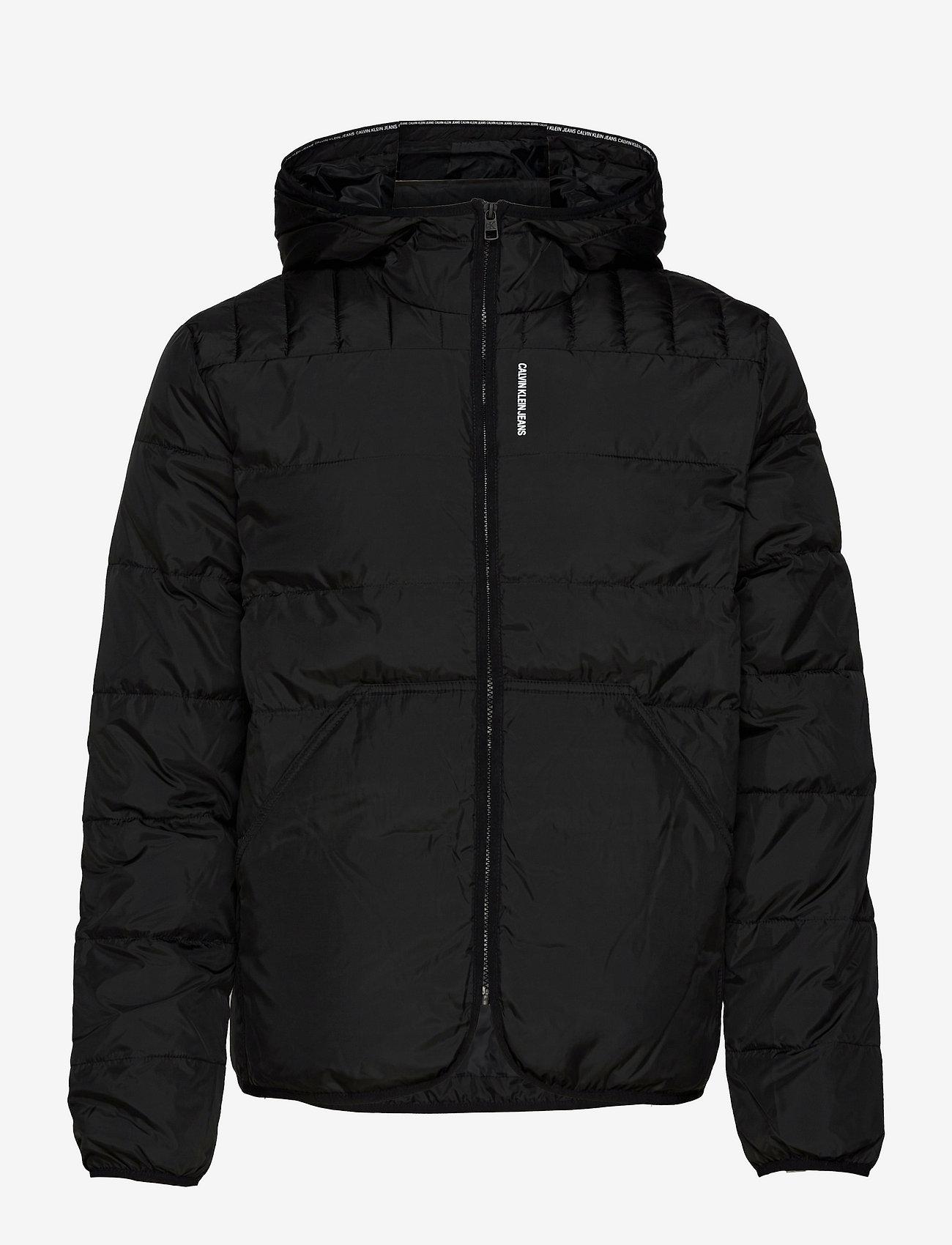 Calvin Klein Jeans - PADDED JACKET - donsjassen - ck black - 0