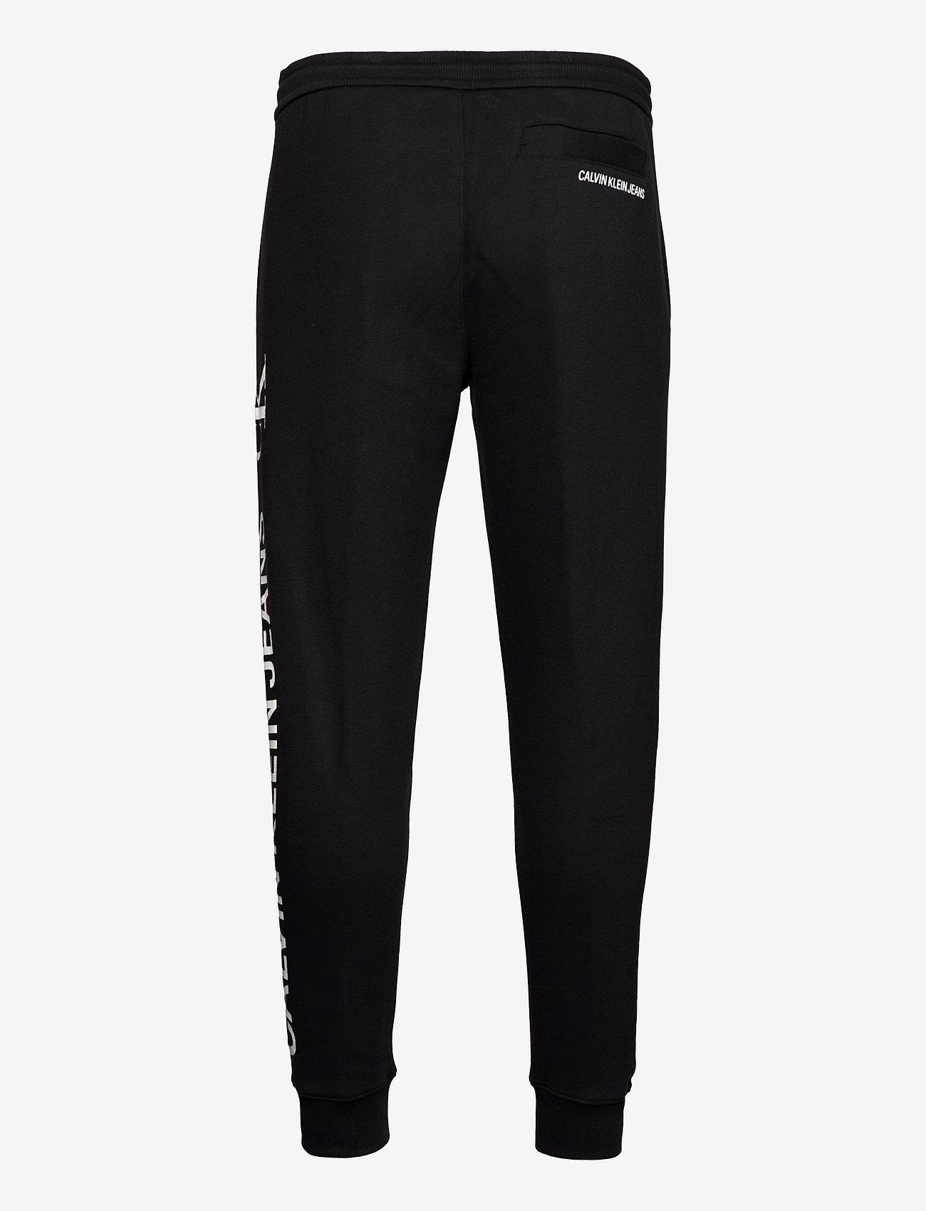 Calvin Klein Jeans - CK VERTICAL LOGO HWK PANT - vêtements - ck black - 1