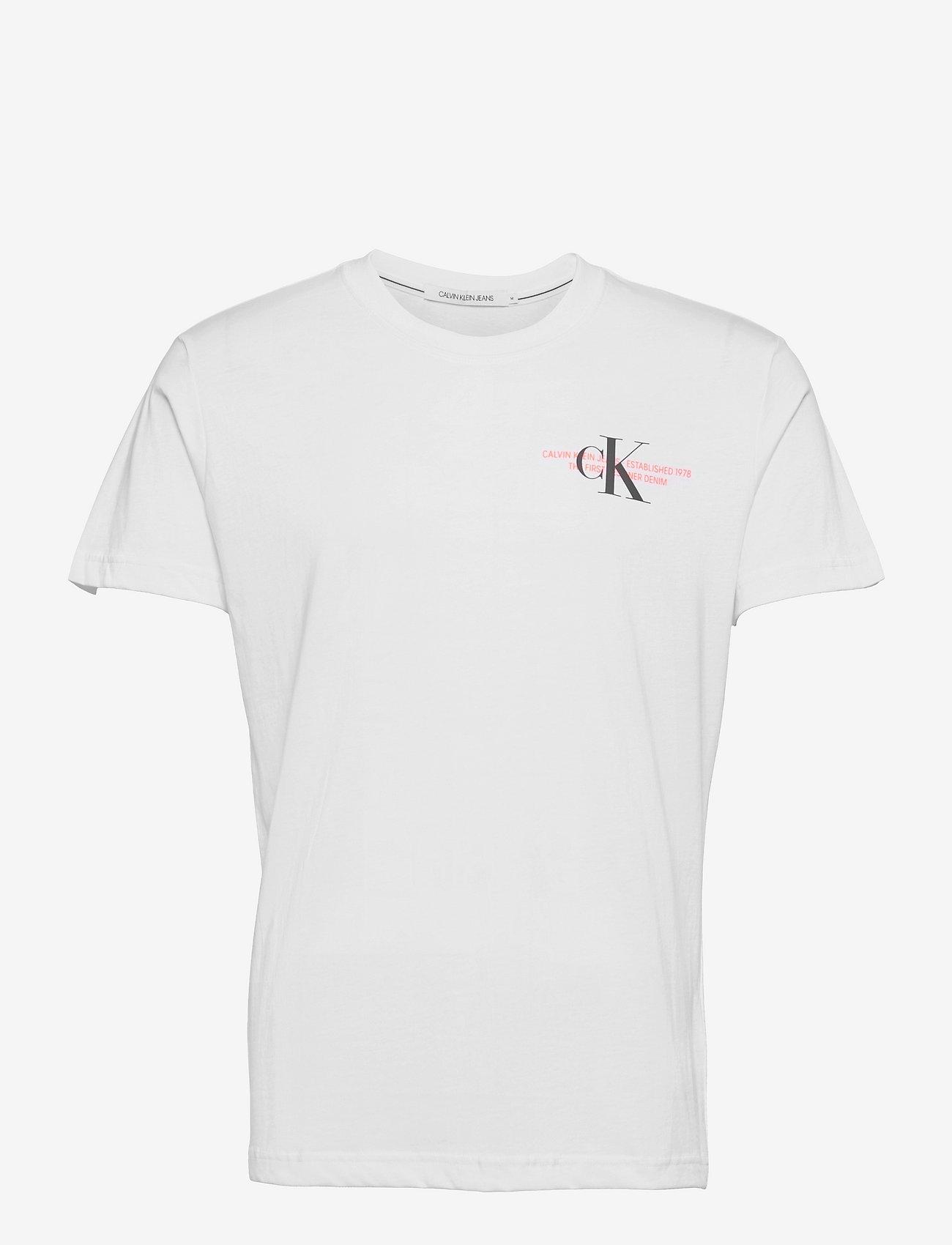 Calvin Klein Jeans - CK URBAN GRAPHIC T-SHIRT - t-shirts basiques - bright white - 0