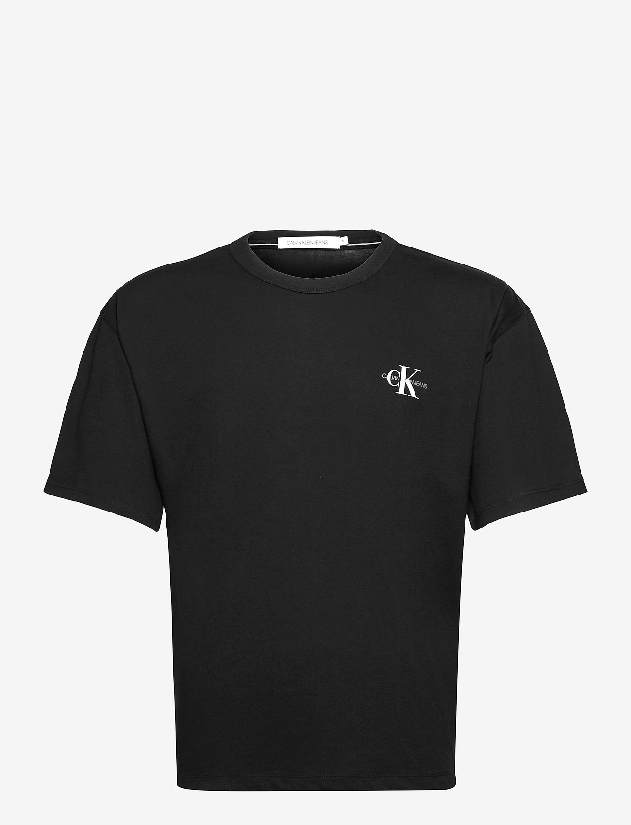 Calvin Klein Jeans - MONOGRAM MODERN RELAXED FIT TEE - t-shirts basiques - ck black - 0