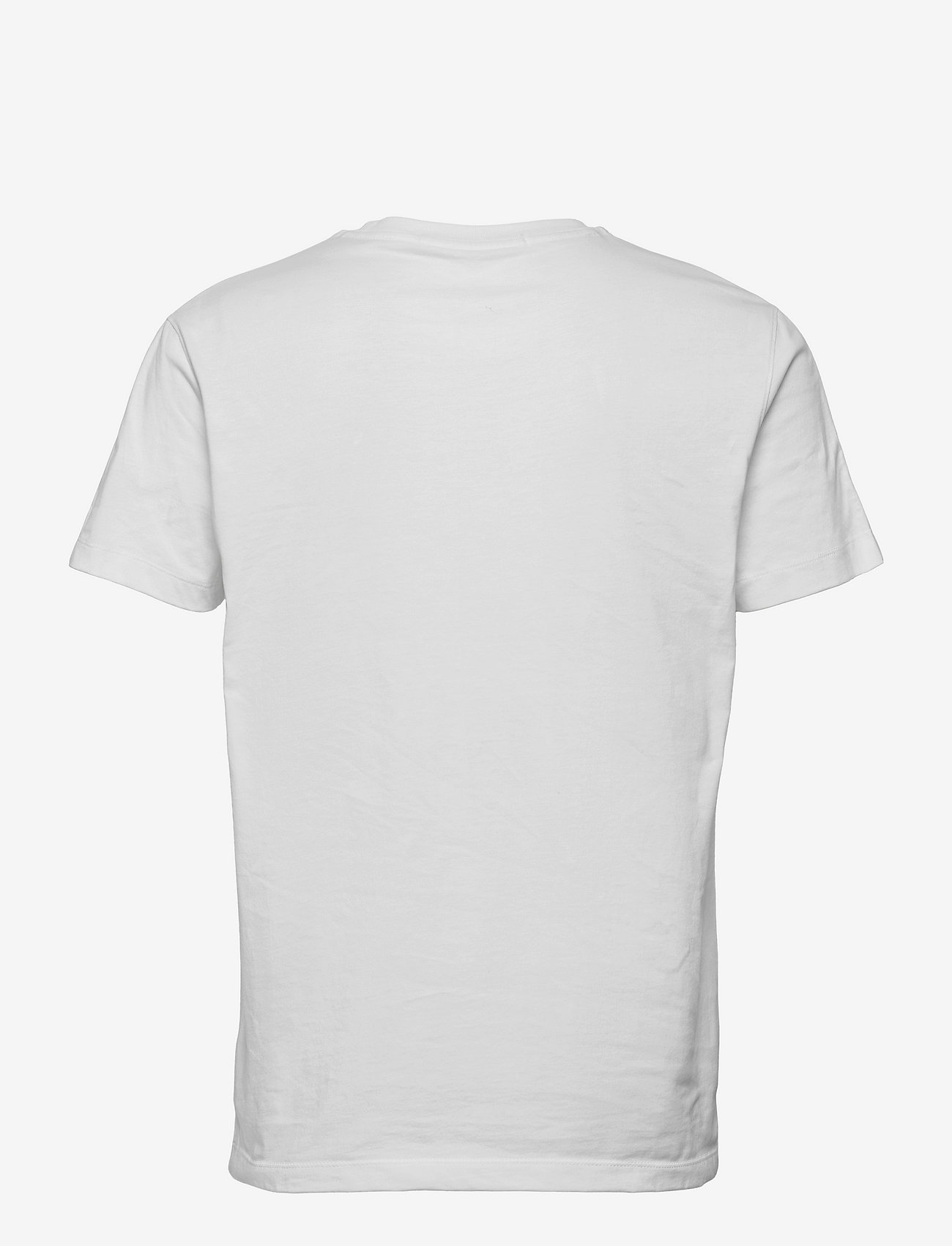 Calvin Klein Jeans - LOGO JACQUARD SHOULDER TEE - basic t-shirts - bright white - 1